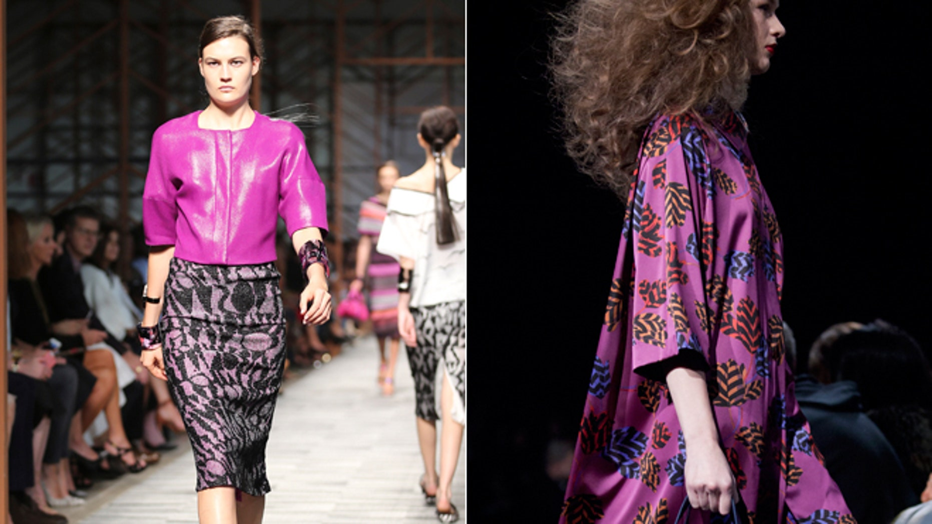 Orchid, a version of the purple hue, is Pantone Inc.'s color of the year for 2014.