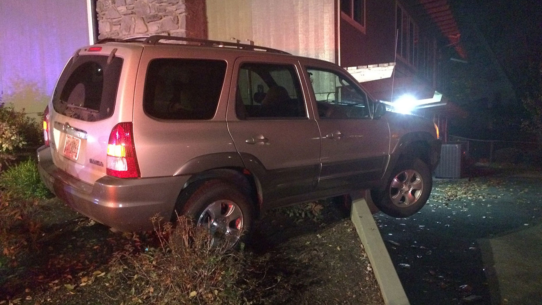 A pregnant woman was injured after deputies said she was dragged and run over by her own vehicle.