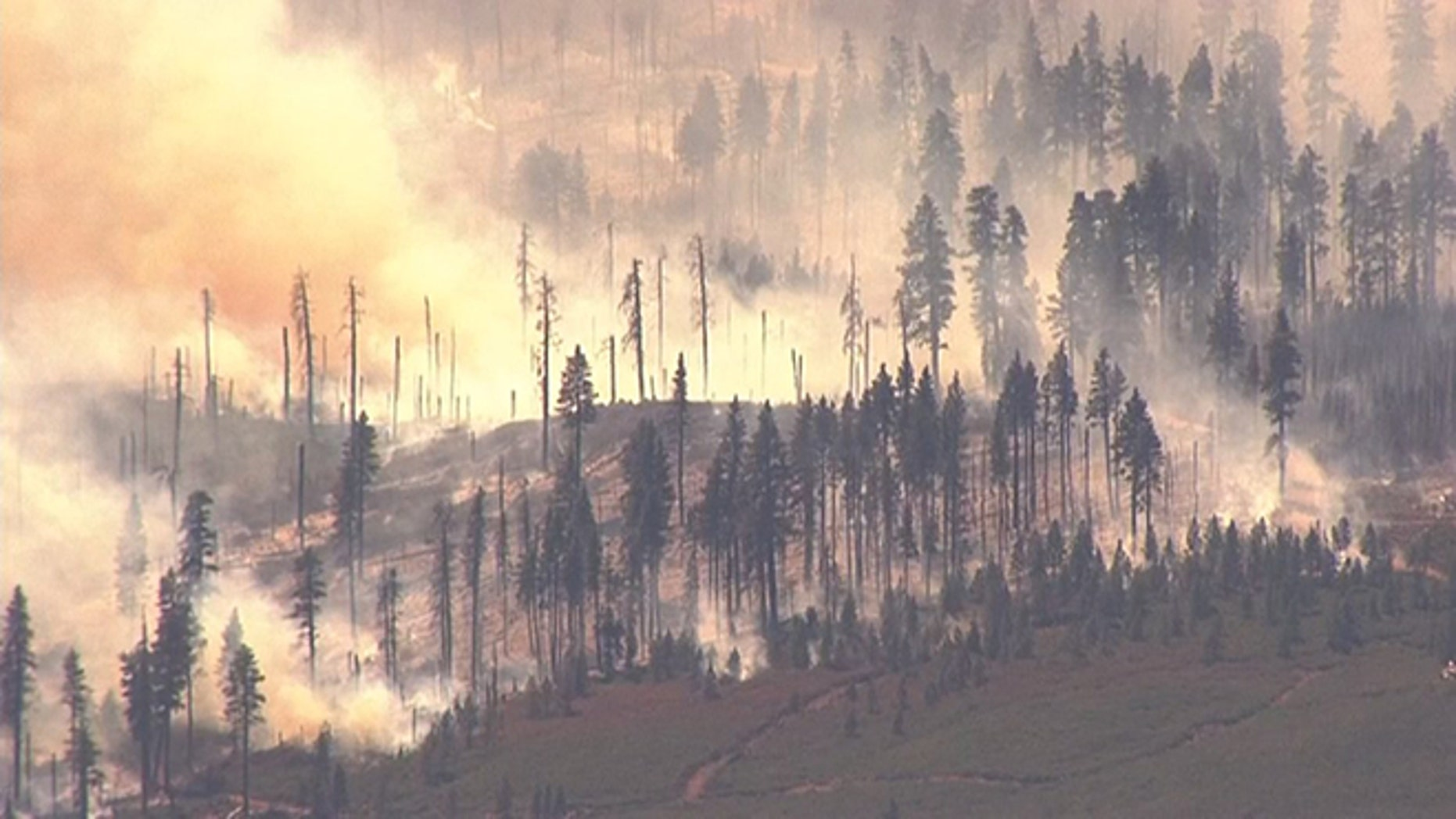 A fire burning near Sisters in Oregon has grown to more than 9,300 acres.