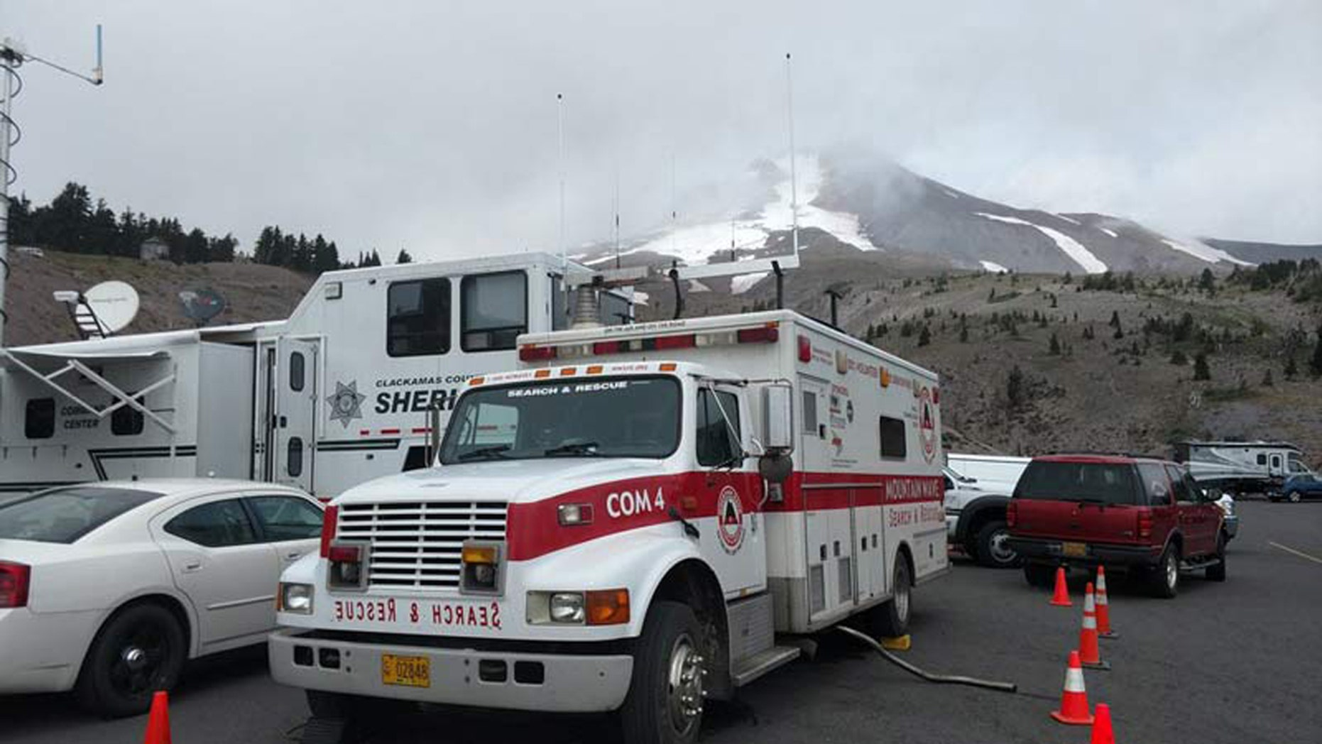 Two women from Portland died in an apparent fall on Mount Hood.