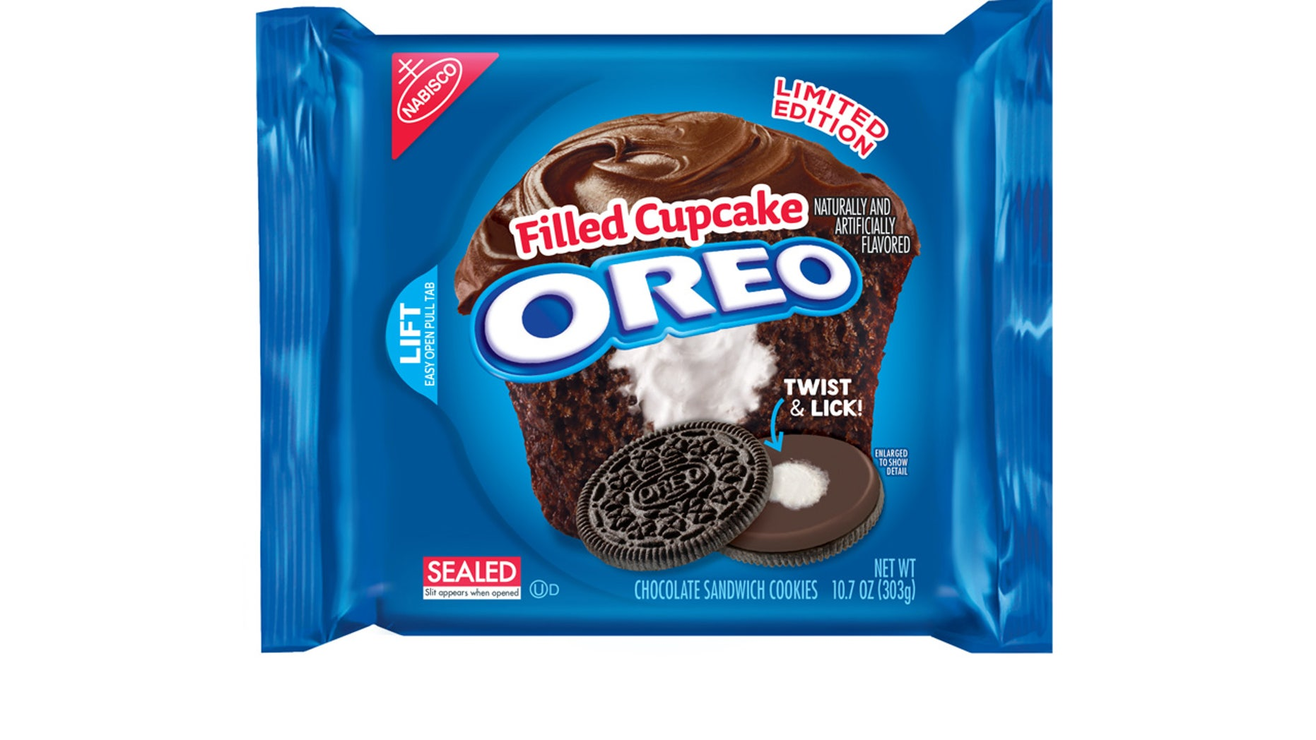 Oreo has another new limited-run cookie.  It's basically just chocolate and vanilla.