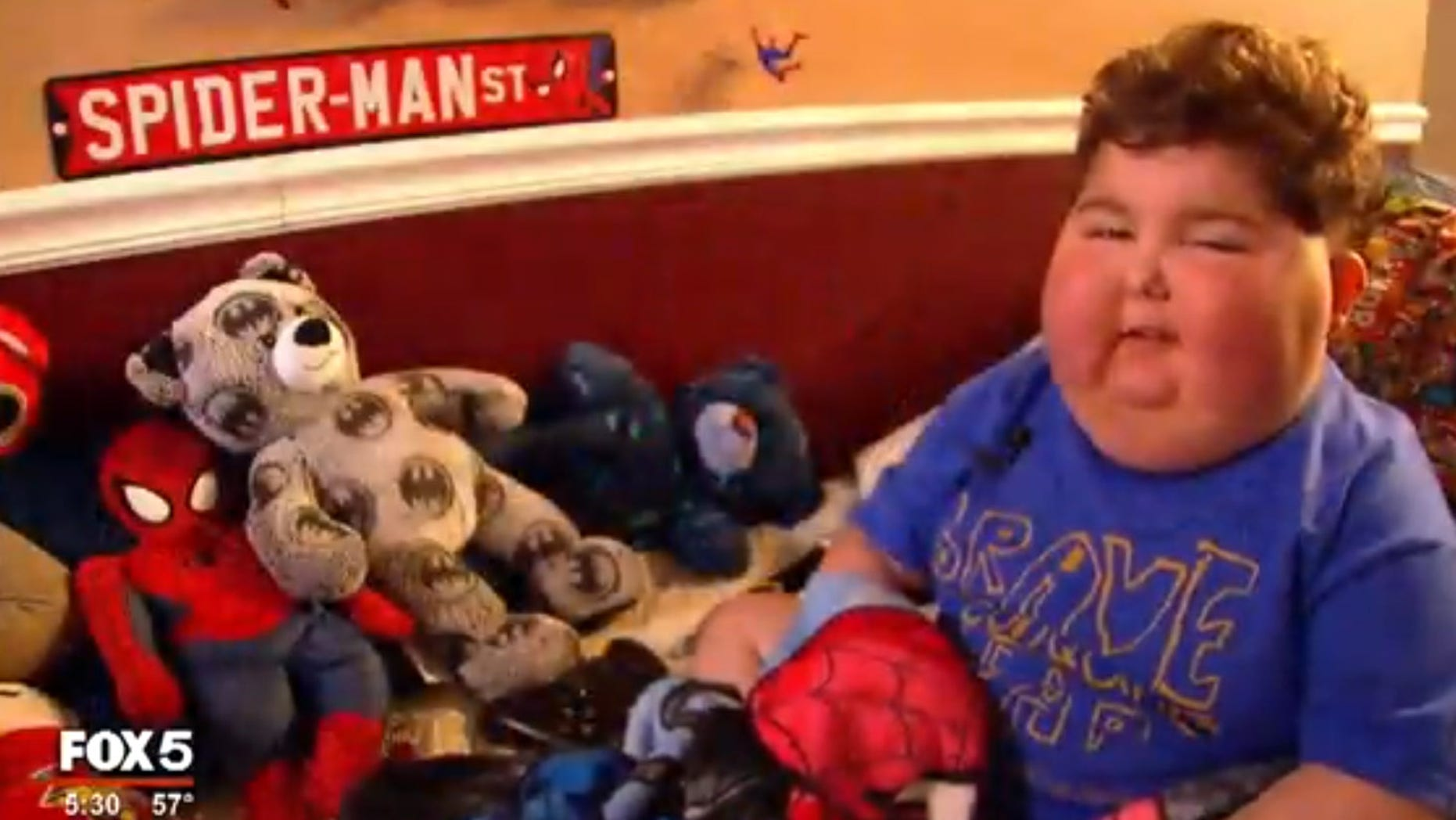 Brantley Dobbs was diagnosed with an inoperable brain tumor about 20 months ago, and has a Christmas wish to receive ornaments from all around the world.