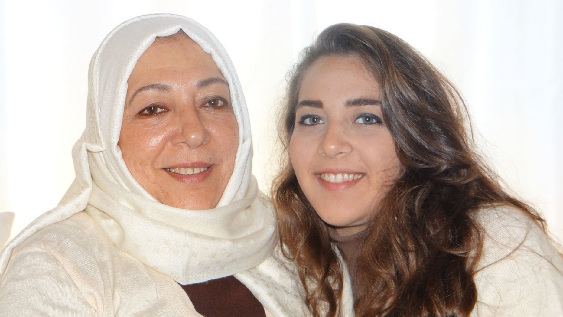 The bodies of 60-year-old Orouba Barakat (l) and her daughter, 23-year-old journalist Halla Barakat (r), were discovered late Thursday after friends contacted police when the reporter didn't show up for work.