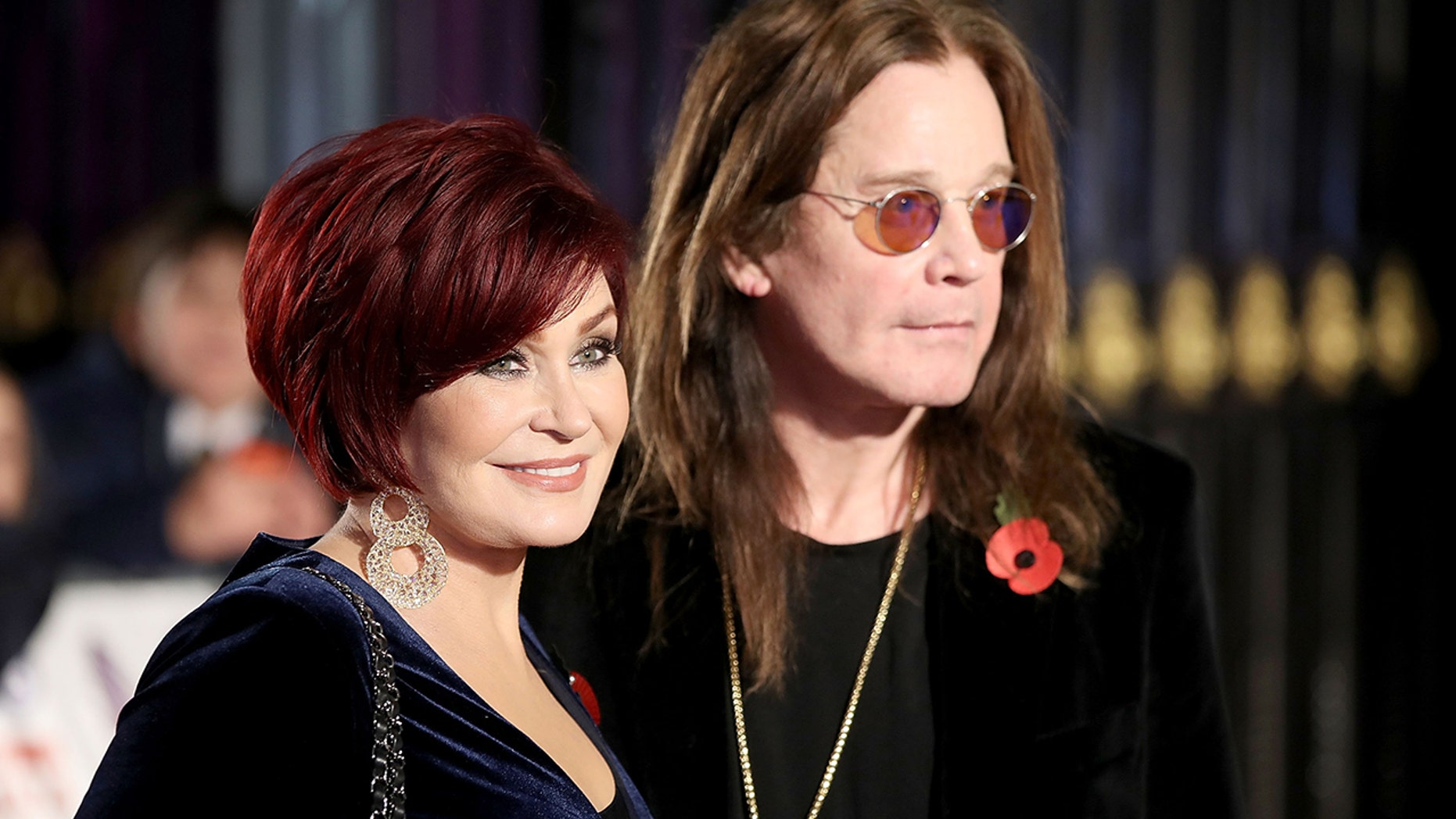 LONDON, ENGLAND - OCTOBER 30:  Ozzy and Sharon Osbourne attend the Pride Of Britain Awards at Grosvenor House, on October 30, 2017 in London, England.  (Photo by Mike Marsland/Mike Marsland/WireImage)