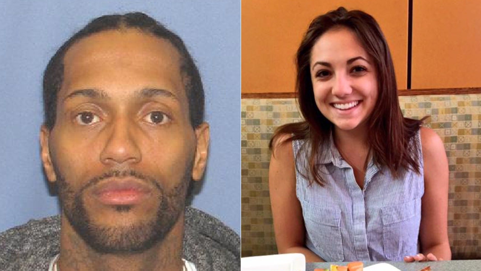 Brian Lee Golsby (left) was charged Saturday for the murder of Ohio State student Regan Tokes (right).