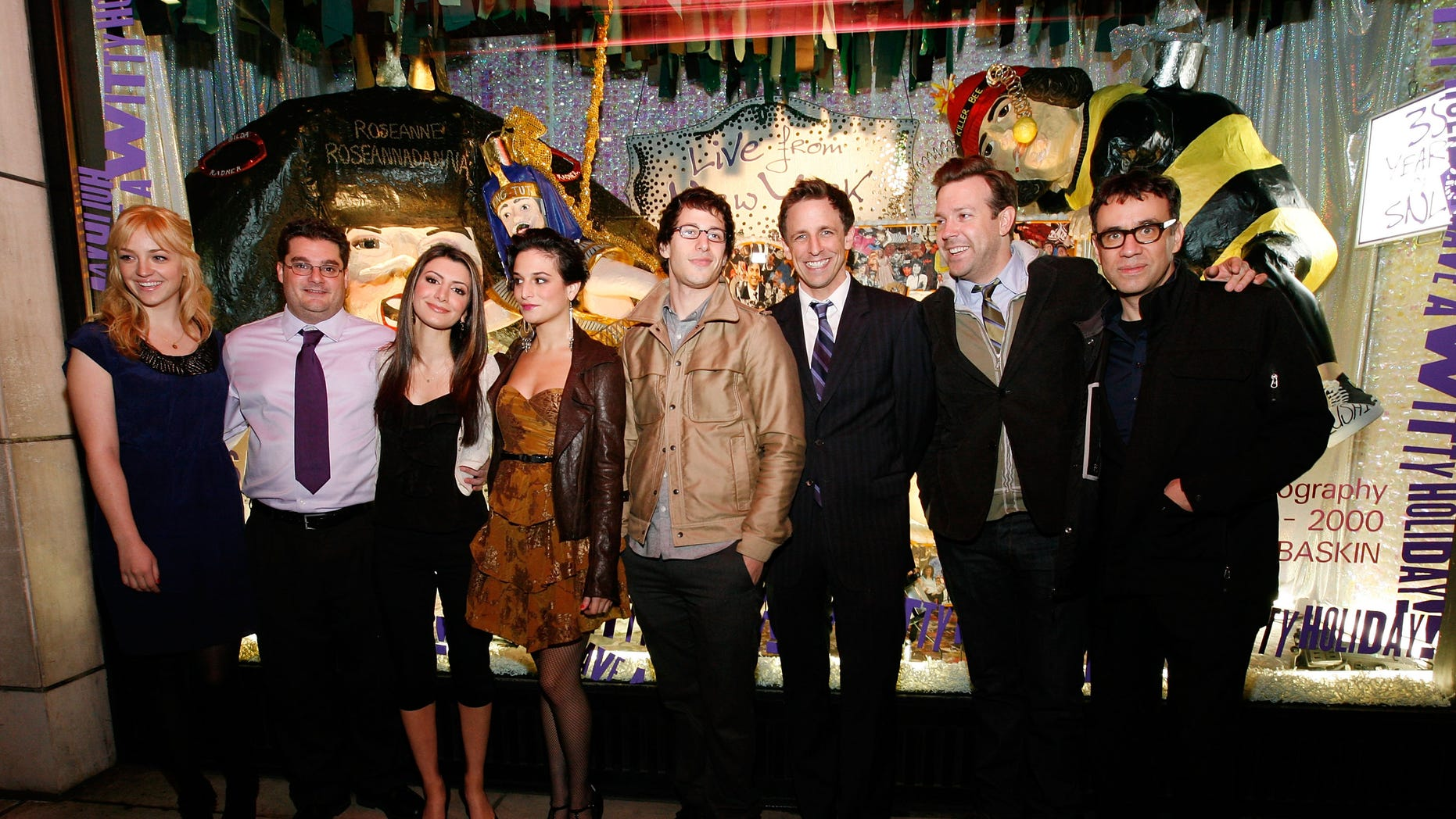 Cast of SNL celebrating 35 years of the show on November 16, 2009 in New York City.