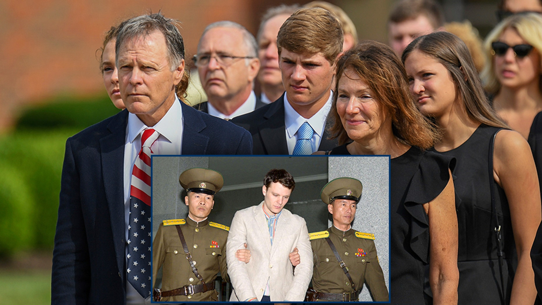 Fred And Cindy Warmbier The Parents Of Otto Warmbier An American College Student Who
