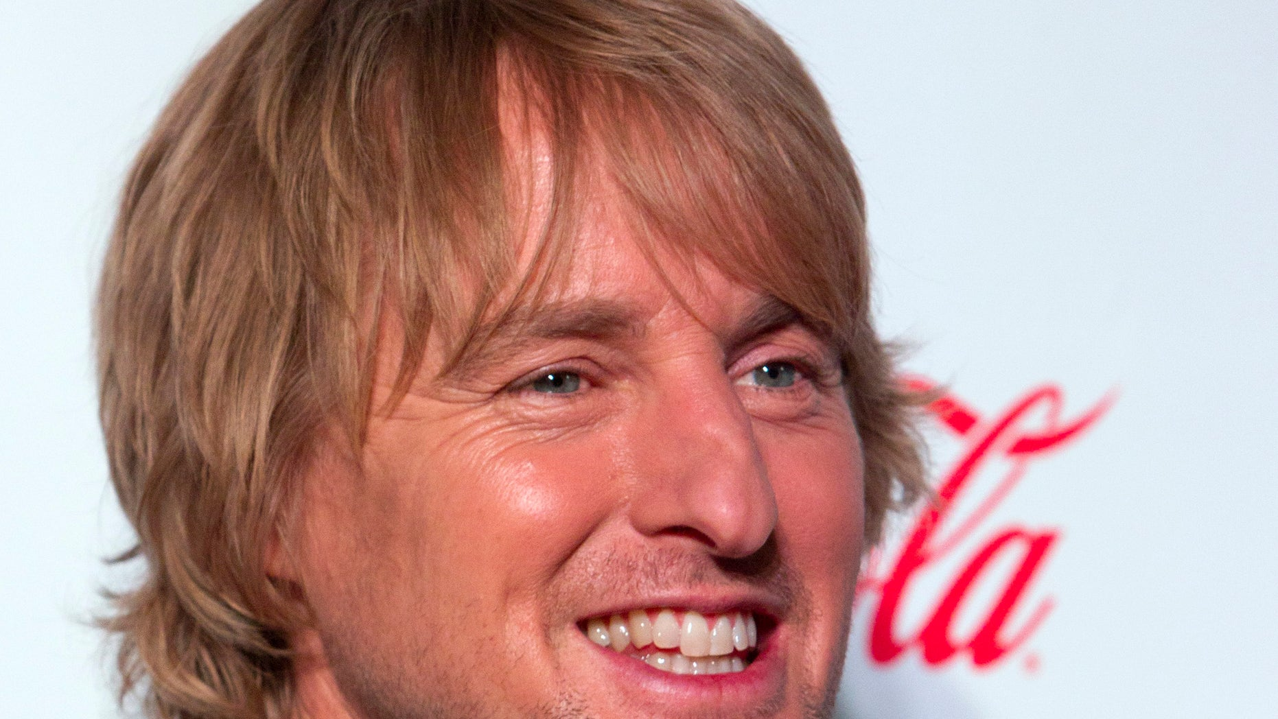 April 18, 2013. Owen Wilson arrives at the CinemaCon awards ceremony at Caesars Palace in Las Vegas, Nevada.