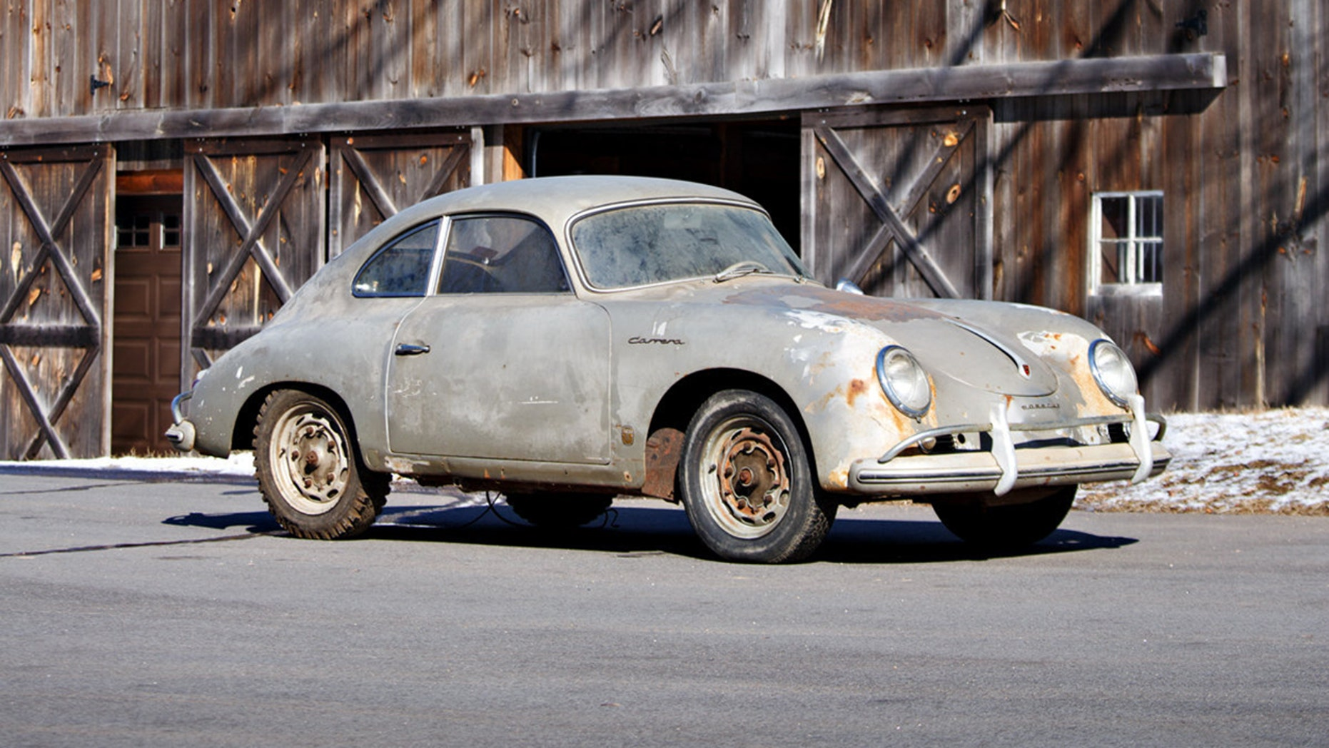 Rusty Porsche Barn Find Expected To Sell For 700 000 Or More
