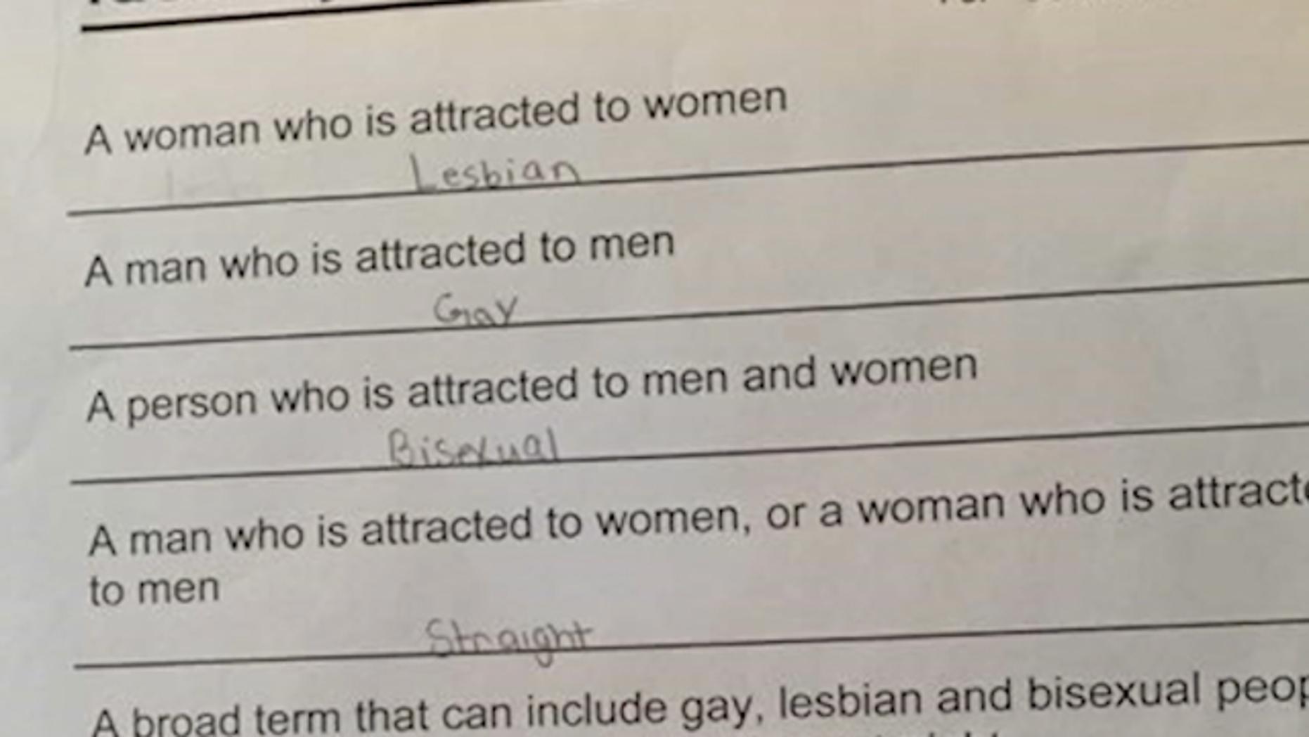 Gay sexuality quiz