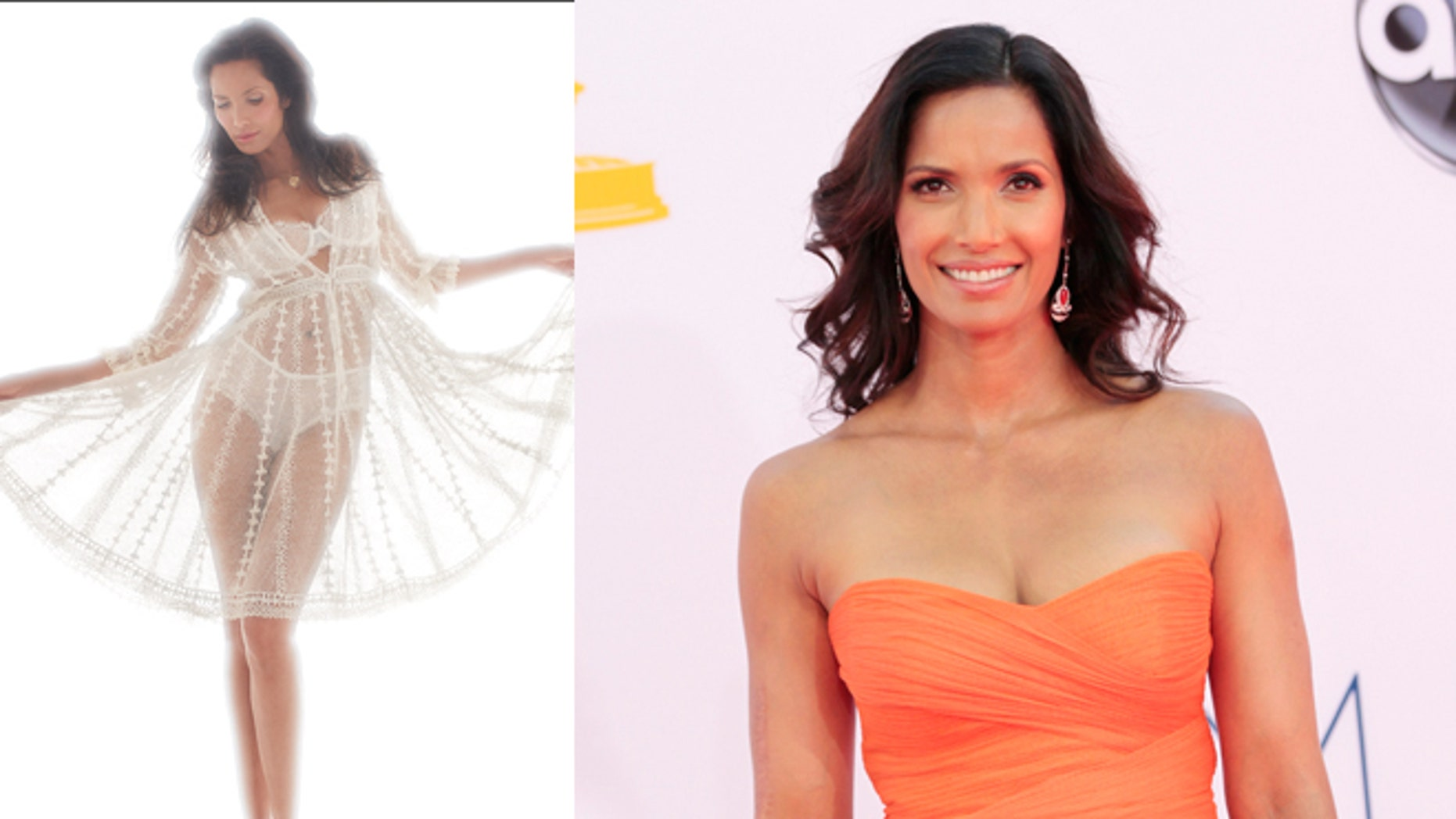 Padma Lakshmi talks about food and dating in the December issue of Playboy.