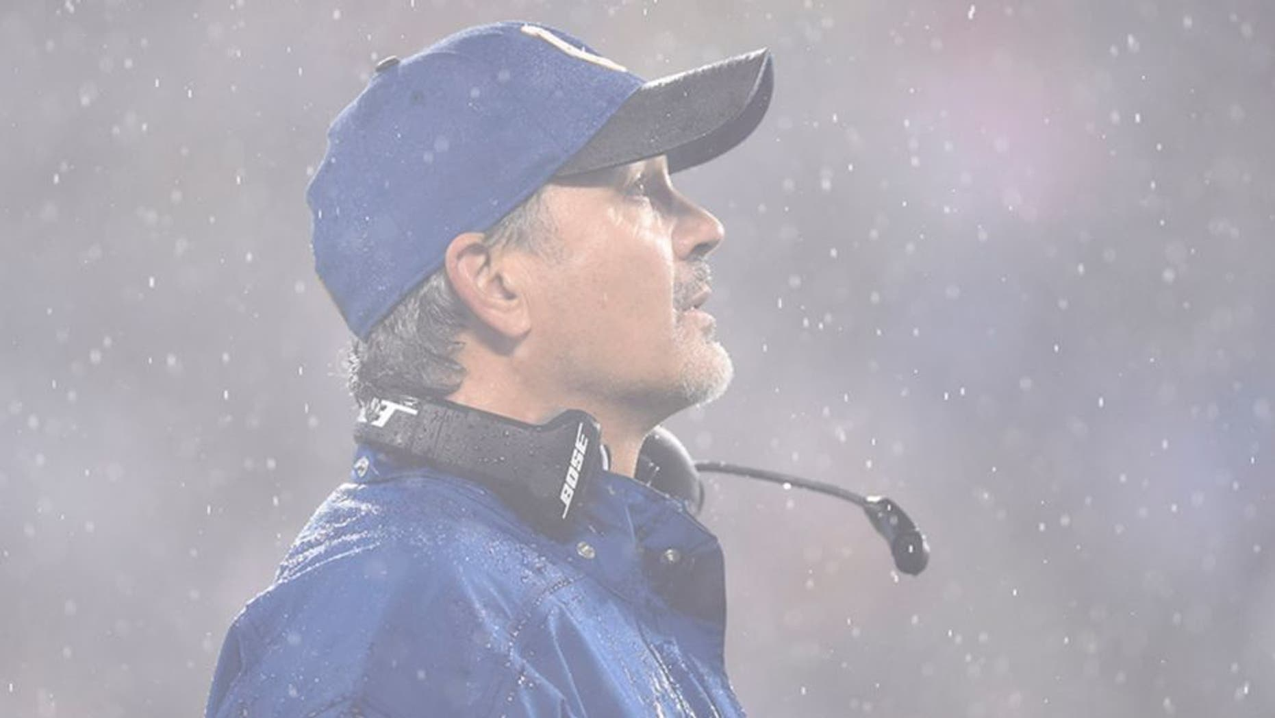Nov 2, 2015; Charlotte, NC, USA; Indianapolis Colts head coach Chuck Pagano in the second quarter at Bank of America Stadium. Mandatory Credit: Bob Donnan-USA TODAY Sports