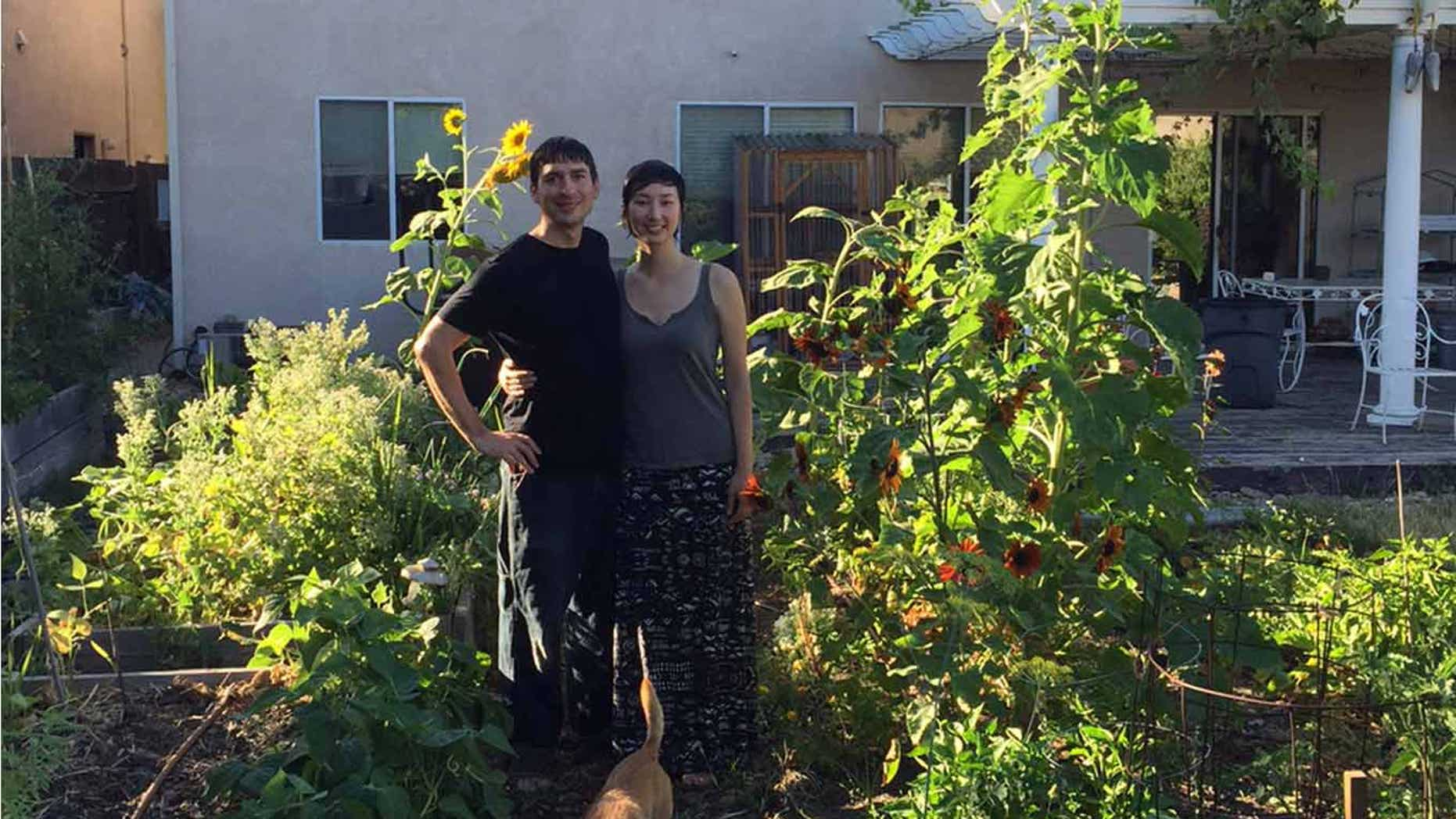 This couple paid off a mortgage in seven years.