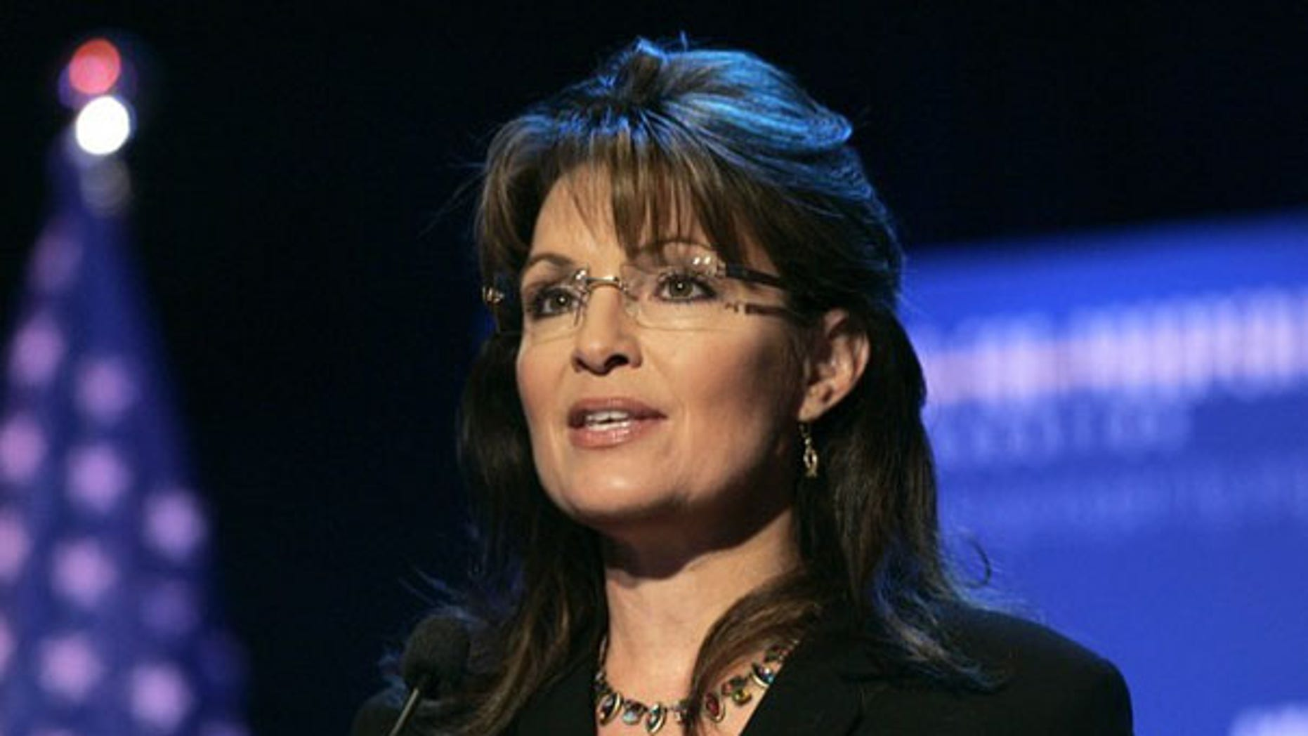 Sarah Palin speaks during the 'Americans For Prosperity Foundation Summit' in Clarkston, Mich., May 1. (Reuters Photo)