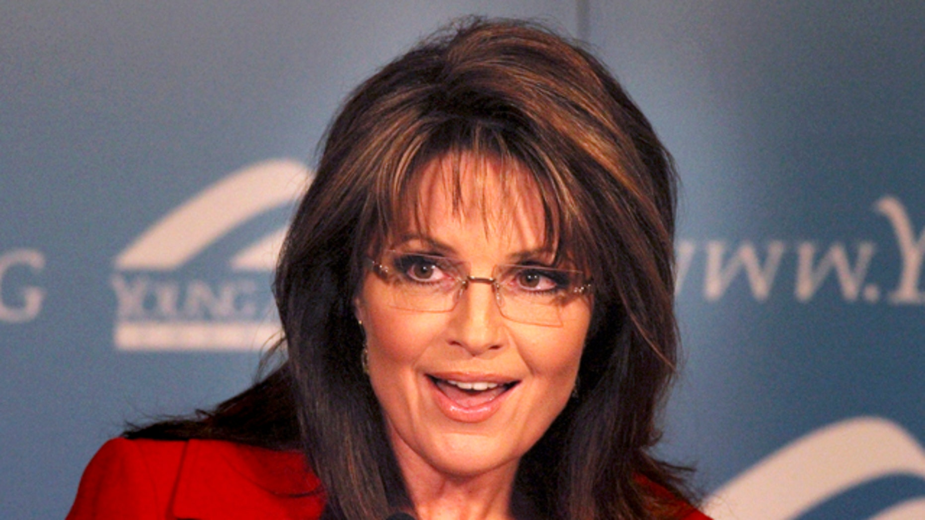 File: Former Republican vice presidential candidate and Alaskan Gov. Sarah Palin speaks at the Reagan Ranch Center in Santa Barbara. (AP)
