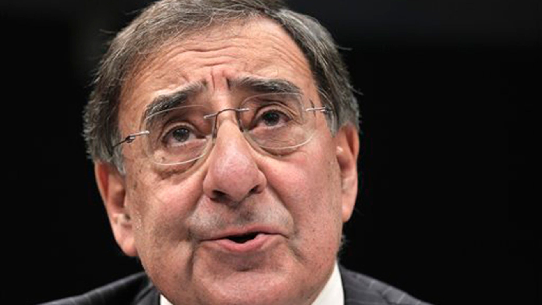 In this Feb. 10 photo, CIA Director Leon Panetta testifies before the House Intelligence Committee on Capitol Hill.