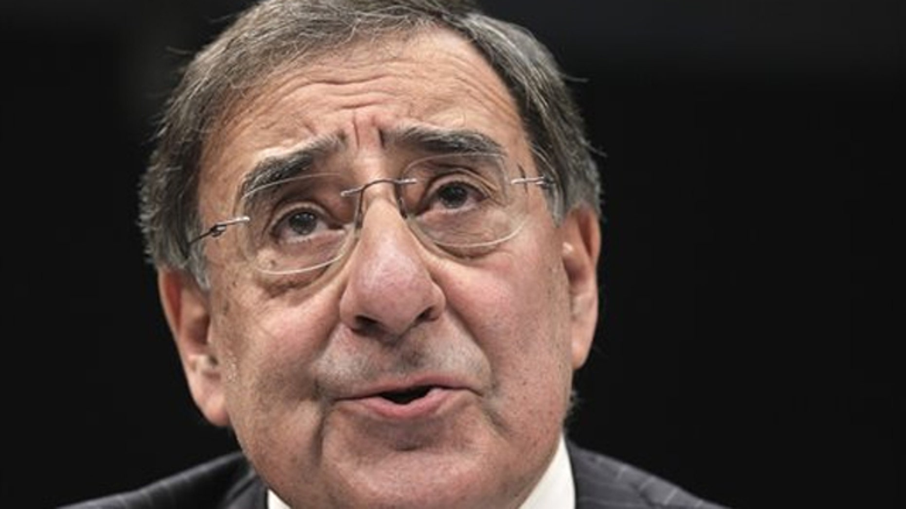 CIA Director Leon Panetta testifies on Capitol Hill in Washington Feb. 10.