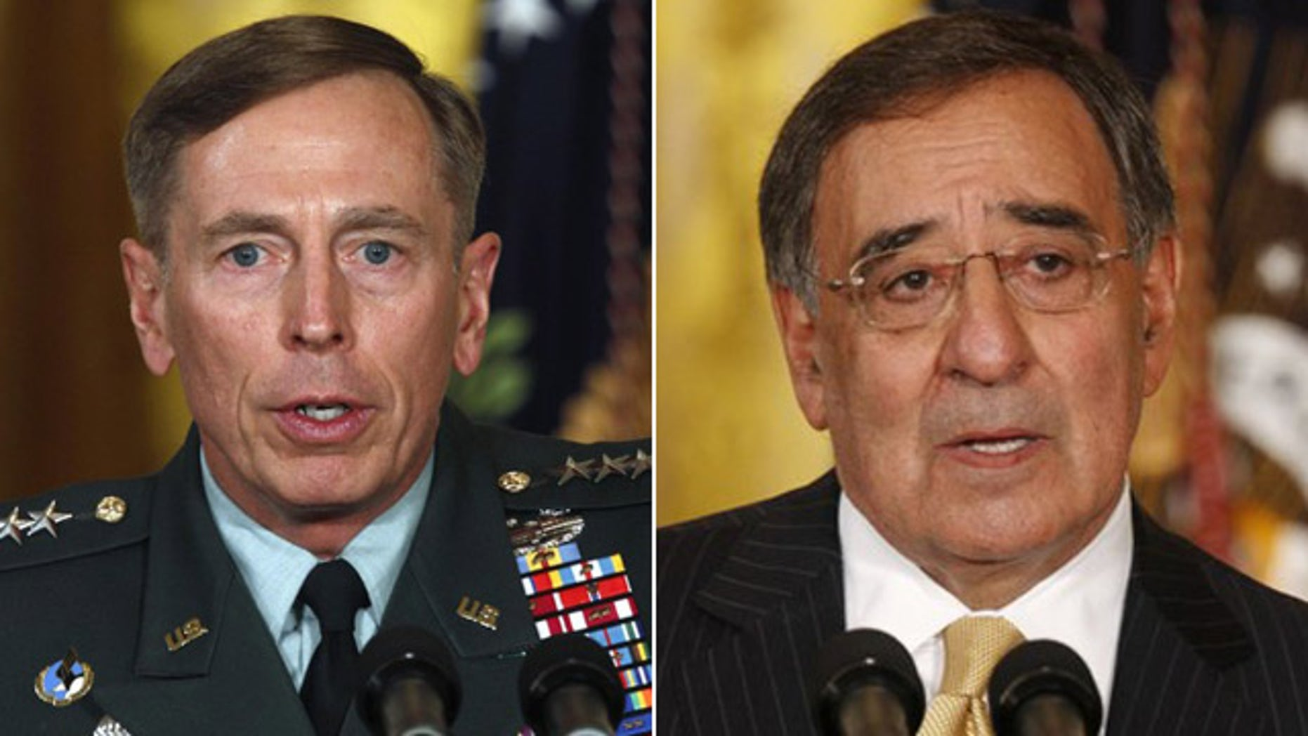 Gen. David Petraeus, top U.S. commander in Afghanistan, is in line to take over as CIA director for Leon Panetta, who has been tapped by Obama as the next defense secretary.