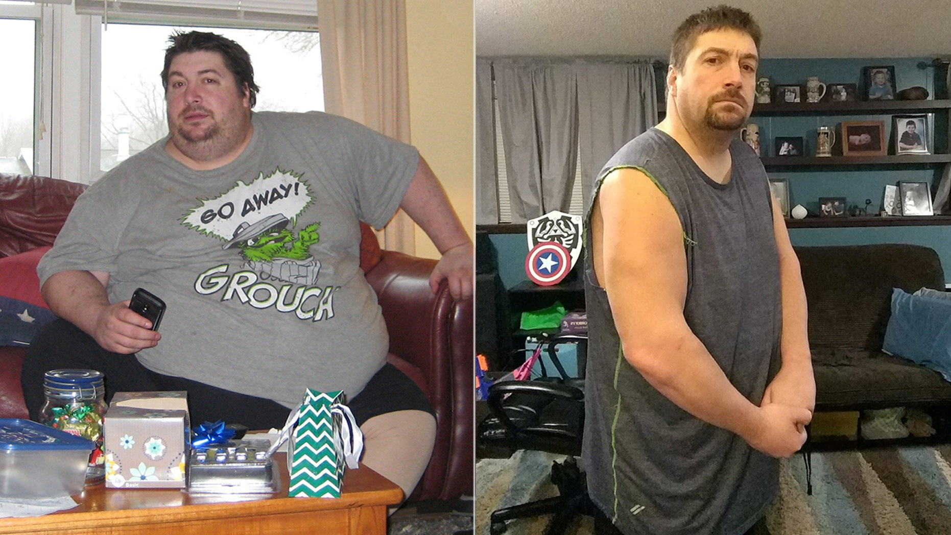 Logan Goodall ditched his unhealthy diet and shed 300 pounds after doctors diagnosed him with a host of health problems.