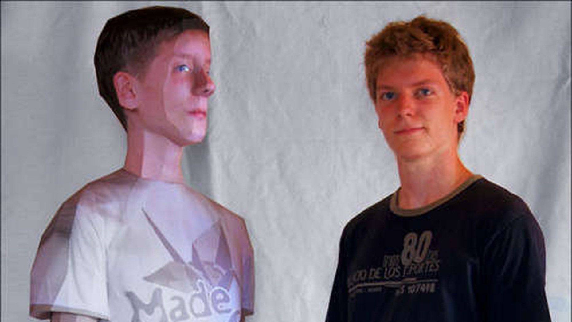 A young German guy has a detailed Instructable online this week that explains how you can make a 3-D paper clone of yourself.