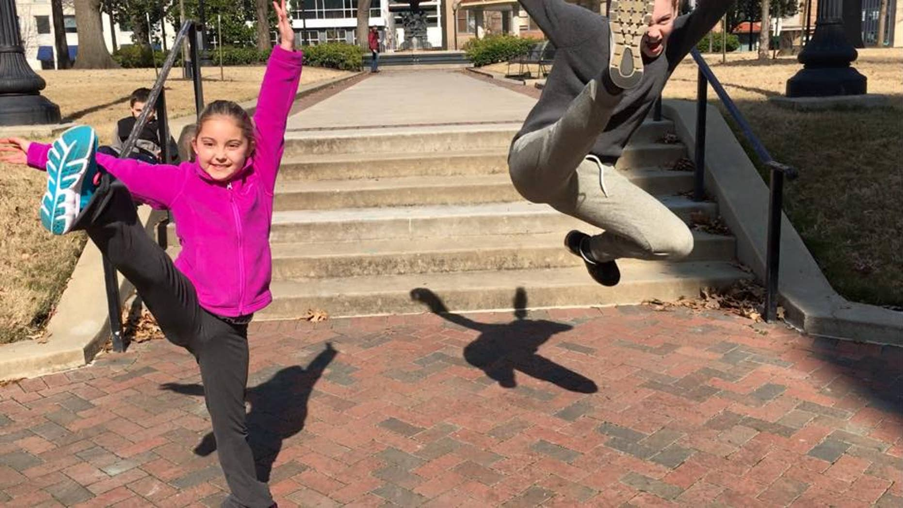 Parker Monhollon, 8, was diagnosed with diffuse intrinsic pontine glioma (DIPG)