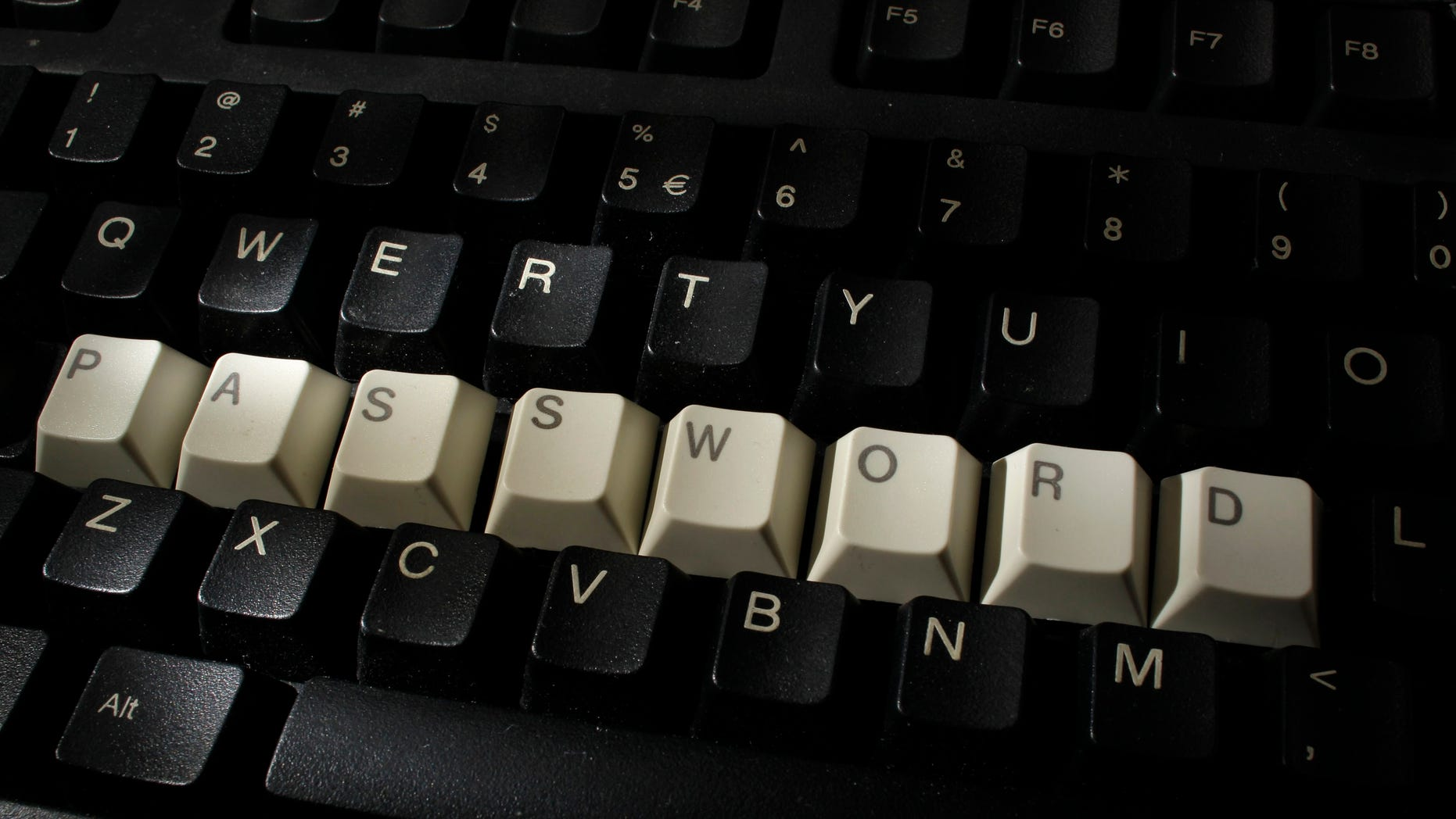 A computer keyboard with letters stacked forming the word 'password' is seen in this illustration picture taken in Warsaw, December 12, 2013. (REUTERS/Kacper Pempel) (POLAND - Tags: SCIENCE TECHNOLOGY)