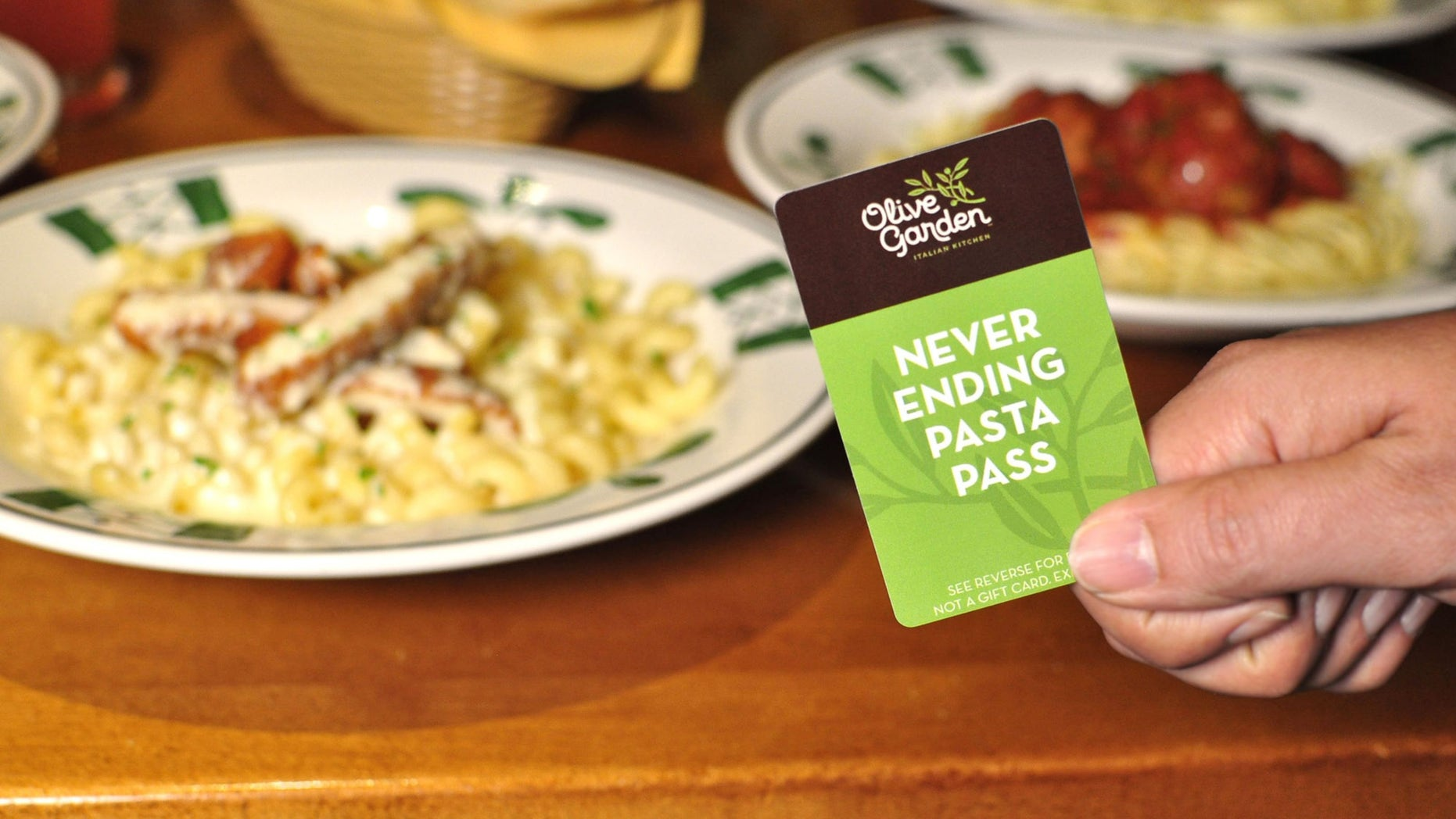 After Olive Garden's Never Ending Pasta Pass began selling on third-party websites, such as Ebay, the company said the black market versions wouldn't be accepted at restaurants.