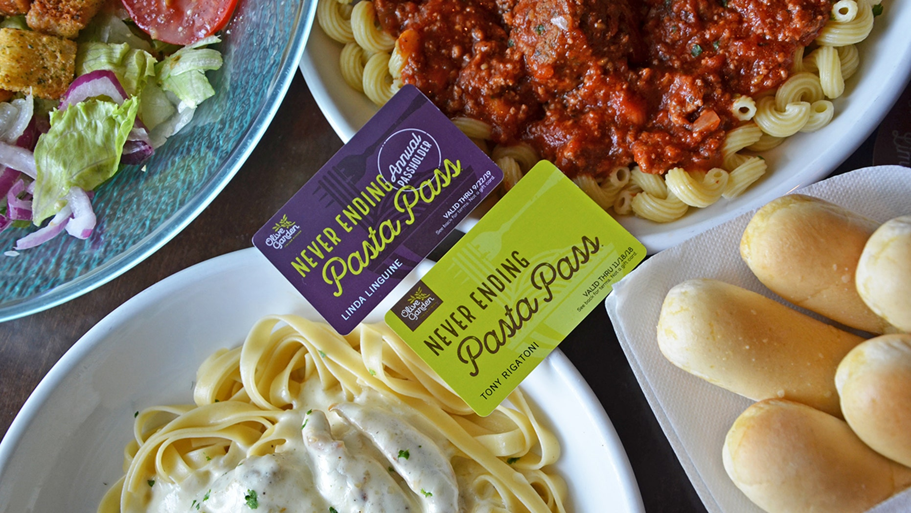 If eight-weeks seems too short to try every pasta on Olive Garden's menu, fans will now have the option for a 52-week pass.