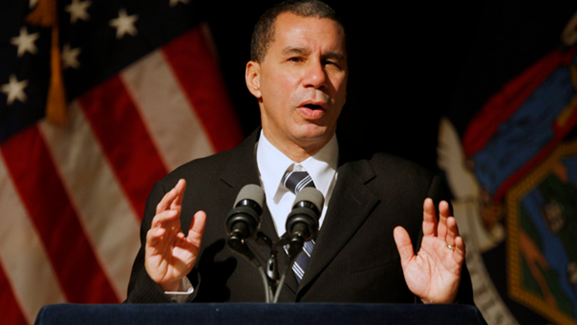 Jan. 12: Gov. David Paterson delivers his State of the State speech in Buffalo.