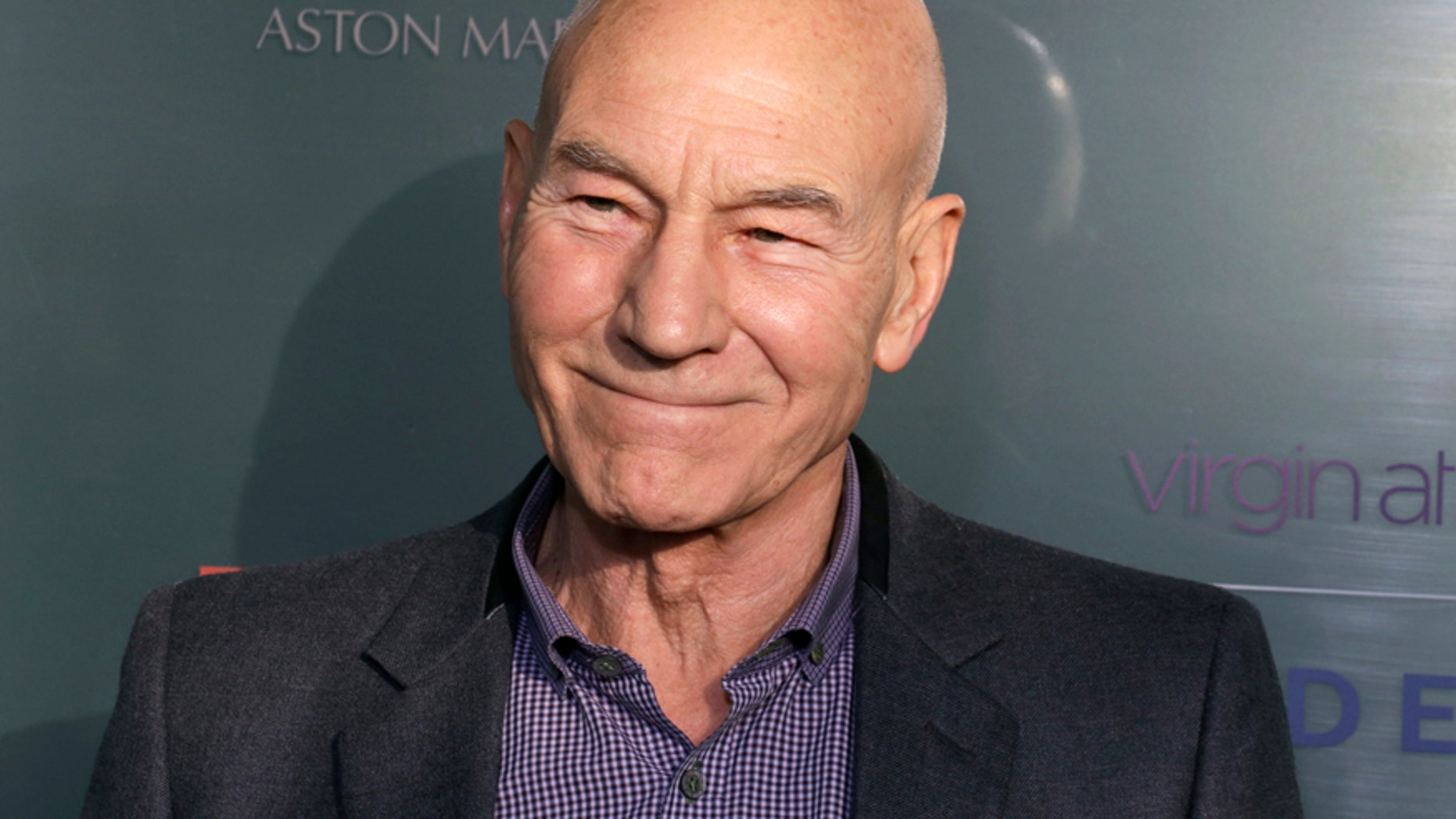 Actor Patrick Stewart attends the GREAT British film reception honoring the British nominees of the 87th Annual Academy Awards at The London West Hollywood in West Hollywood, California February 20, 2015.