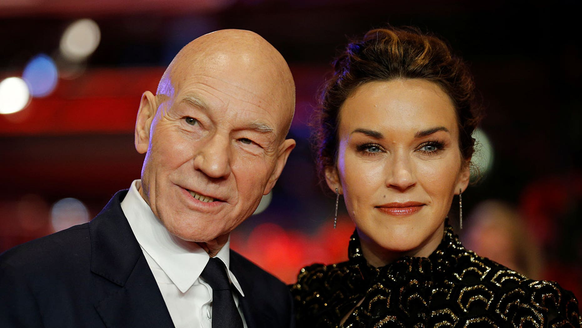 Patrick Stewart's wife, Sunny Ozell, said her husband ate the best pizza of his life at Pepe's in New Haven, Conn.