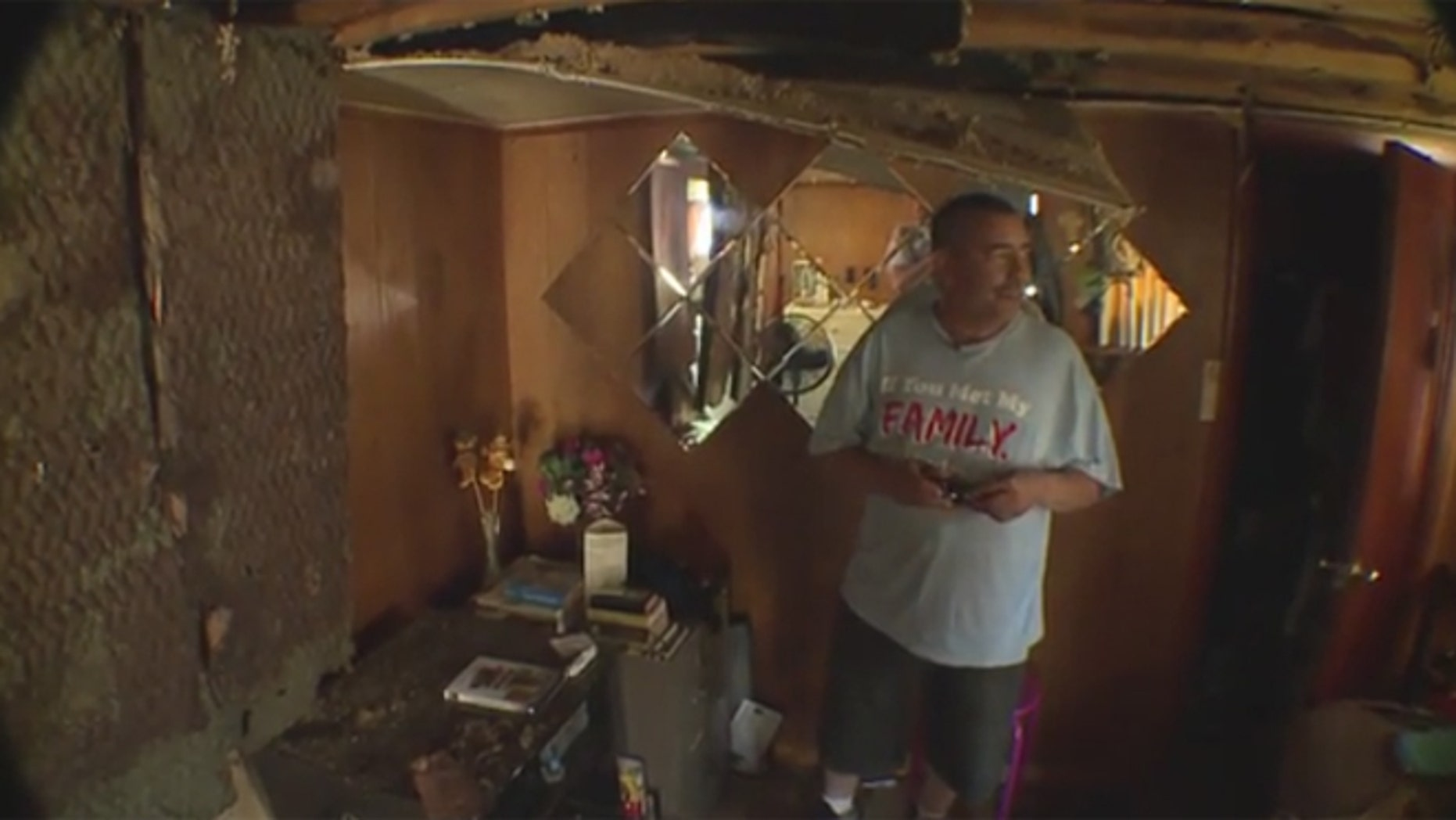 Paul Alva and his wife, who just received a liver transplant, were left homeless after a hailstorm last week destroyed their home near Denver.