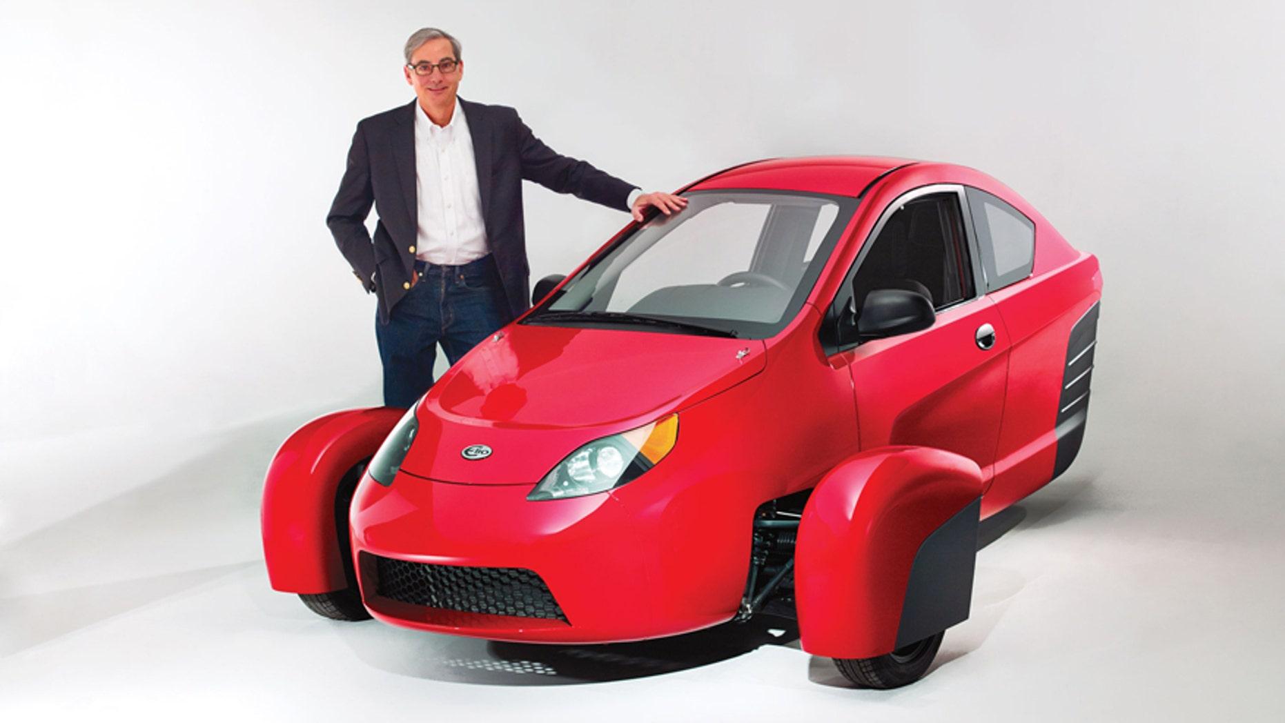 Paul Elio and the Elio Motors P5