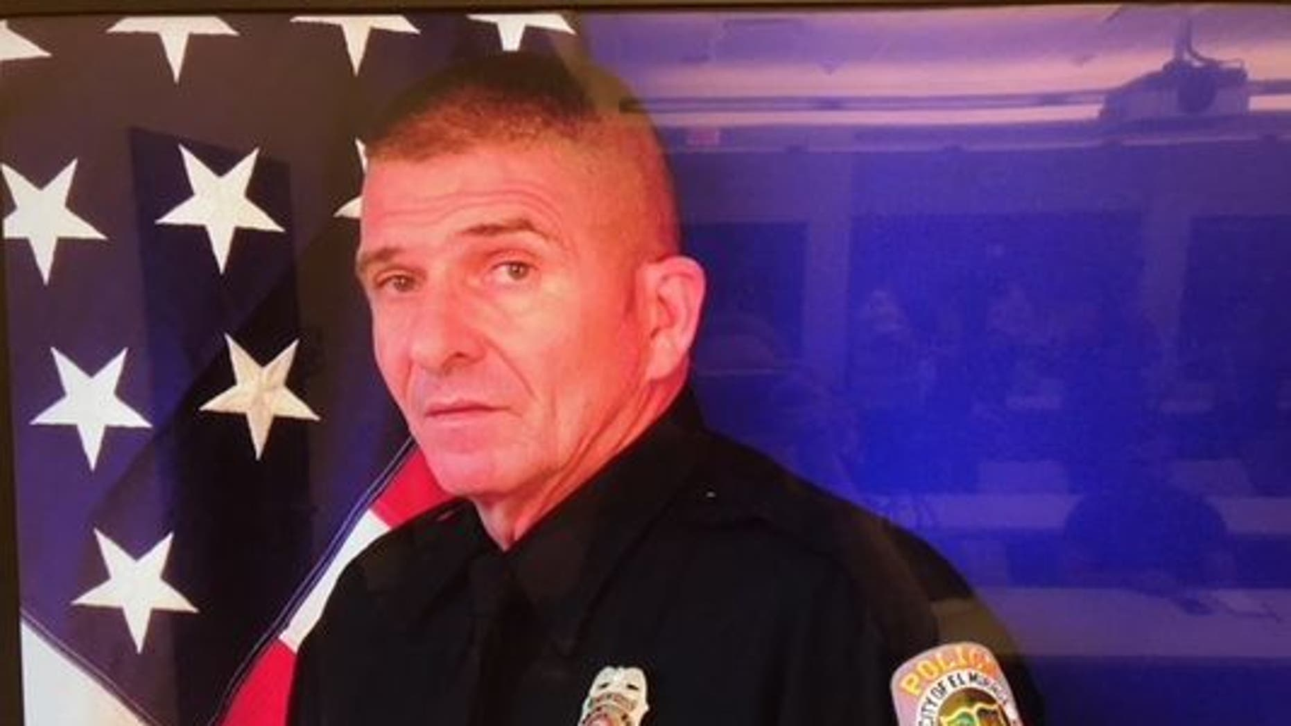 Officer Paul Lazinsky, 58, was a 17-year veteran of the force and was expected to retire next year, reports said.