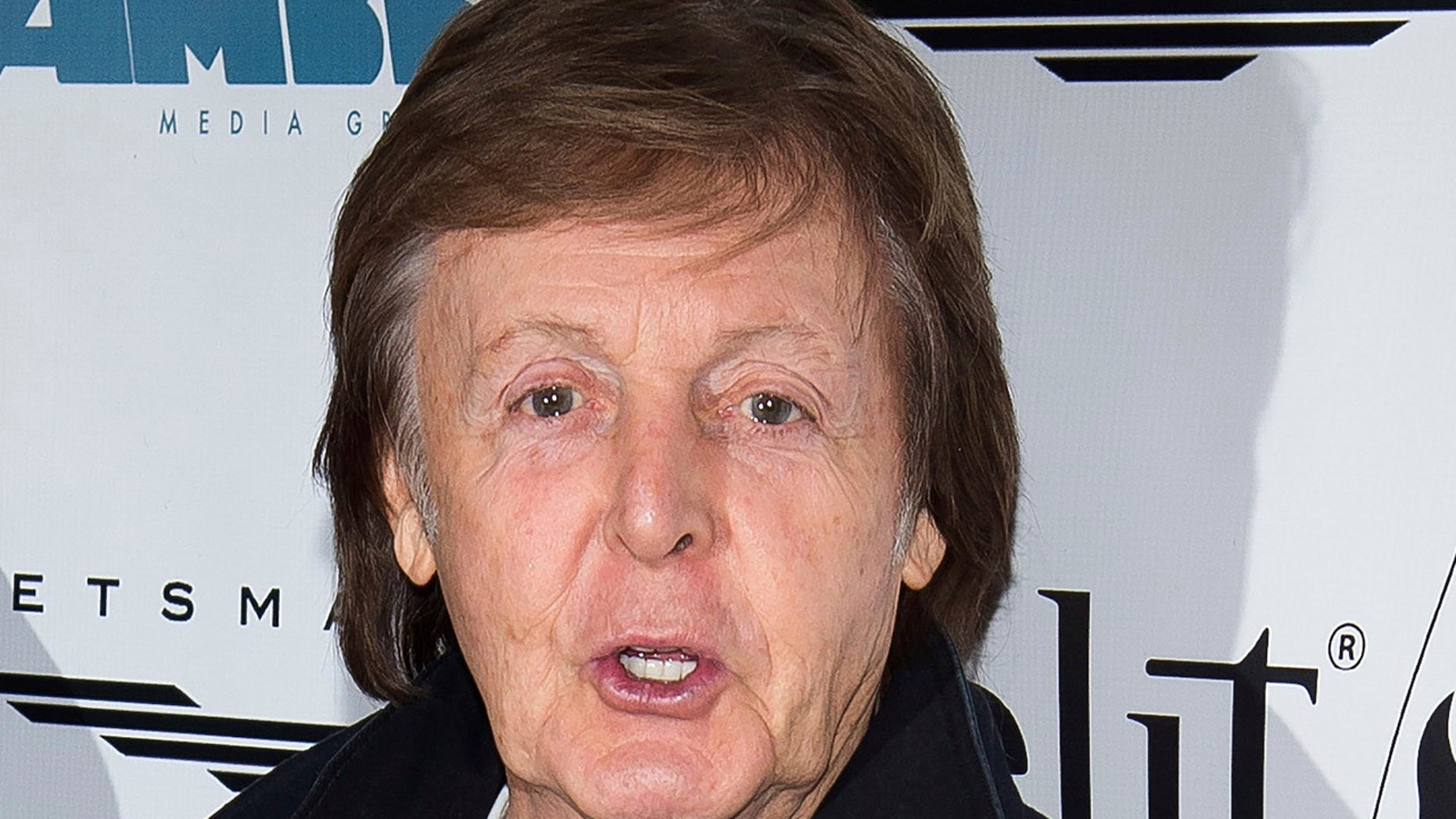 """FILE- This Dec. 19, 2016 file photo shows Paul McCartney as he arrives for a screening of """"This Beautiful Fantastic"""" at the SVA Theatre in New York."""