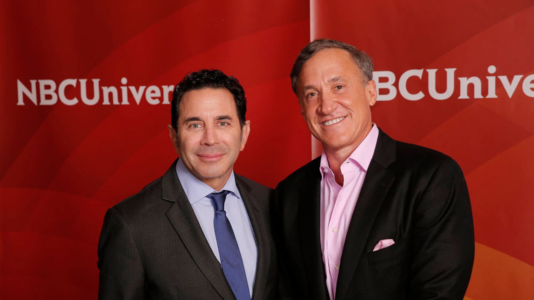 """NBCUNIVERSAL EVENTS -- NBCUniversal Summer Press Tour, August 3, 2016 -- E!s, """"Botched By Nature""""  cast -- Pictured: (l-r) Dr. Paul Nassif, Dr. Terry Dubrow -- (Photo by: Chris Haston/NBCUniversal)"""