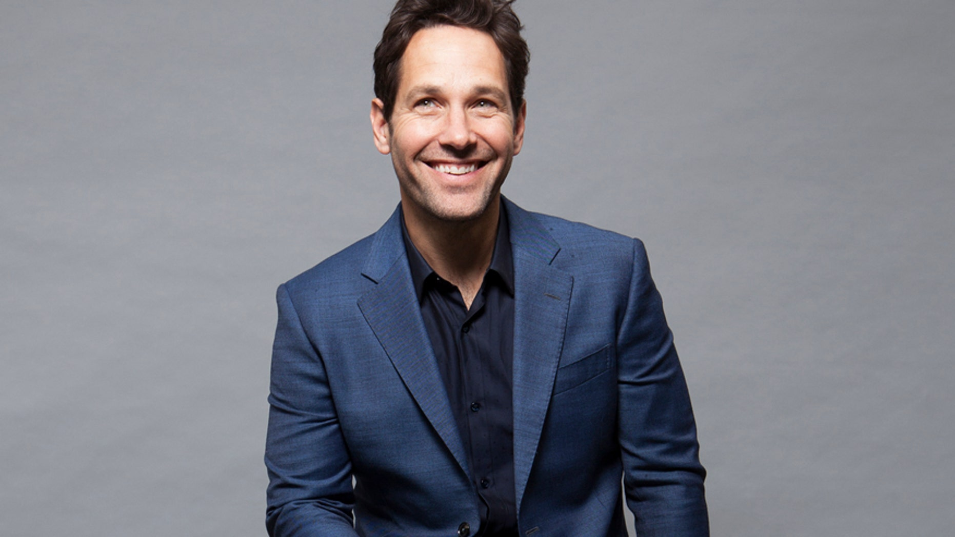 """In this Saturday, June 27, 2015 photo, actor Paul Rudd poses for a portrait in promotion of the new film, """"Ant-Man"""" in Burbank, Calif. The movie releases in the U.S. on July 17, 2015. (Photo by Rebecca Cabage/Invision/AP)"""