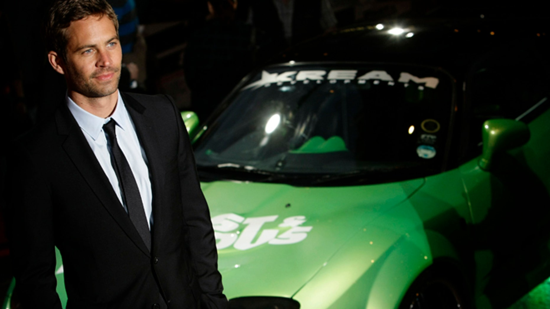 """March 19, 2009: Actor Paul Walker arrives for the British premiere of """"Fast & Furious"""" in Leicester Square in London."""