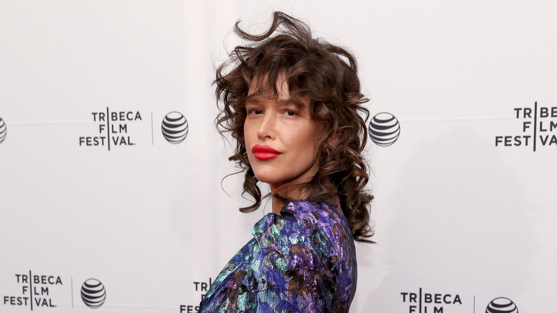 "Paz de la Huerta attends the premiere of ""Bare"" during the 2015 Tribeca Film Festival on April 19, 2015 in New York City."