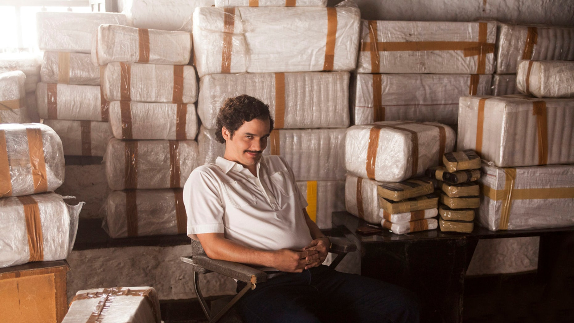 Wagner Moura stars as Pablo Escobar in the popular Netflix series.