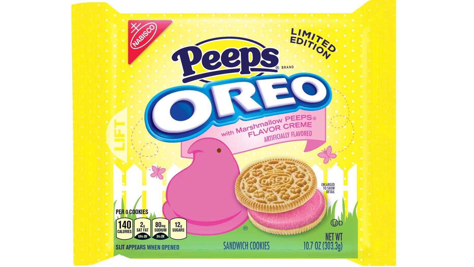 Super Bright Pink Peeps Oreos Reportedly Have An Unfortunate Side Spiritservingveterans Wood Chair Design Ideas Spiritservingveteransorg