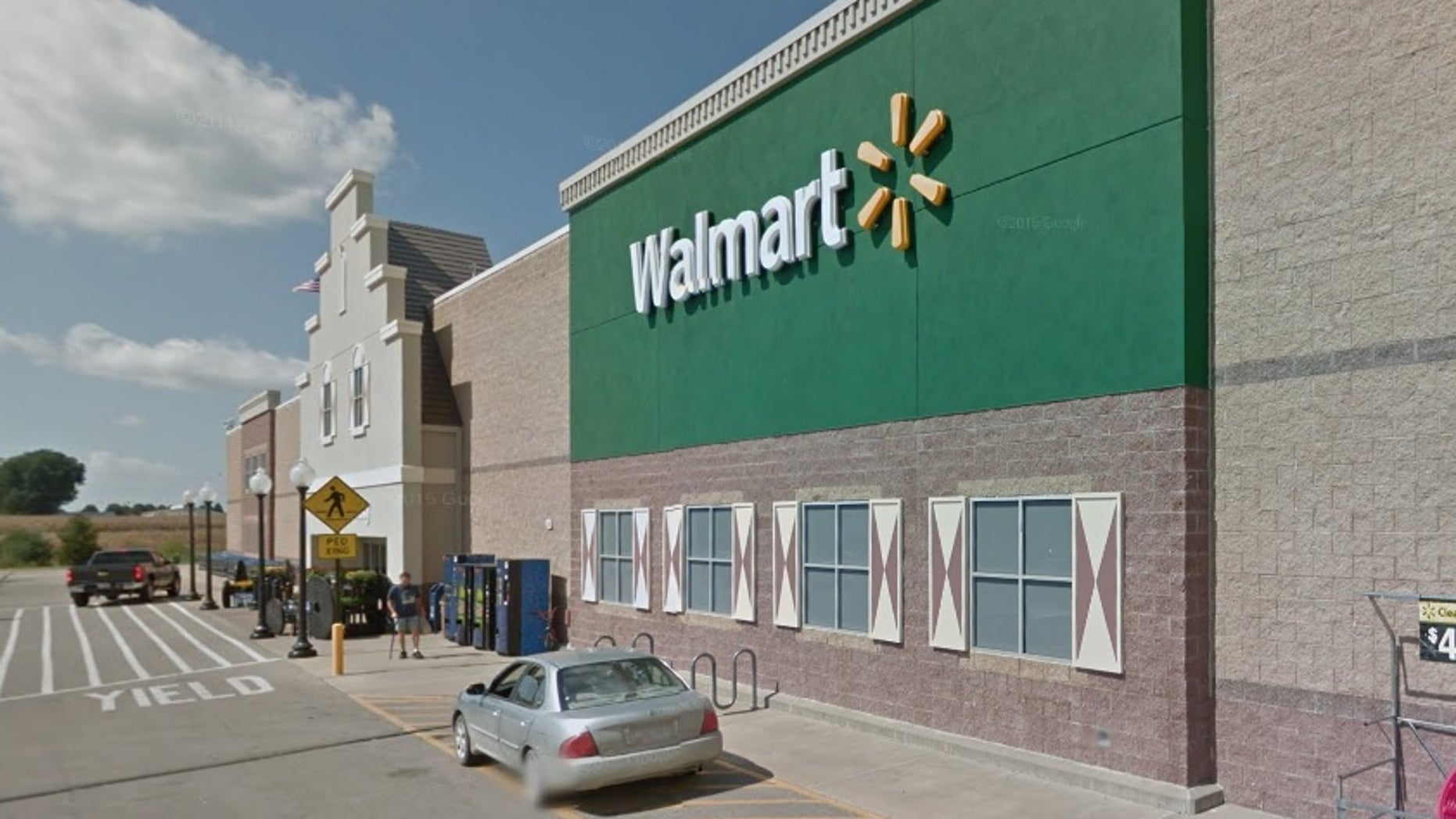 The Walmart in Pella, Iowa.