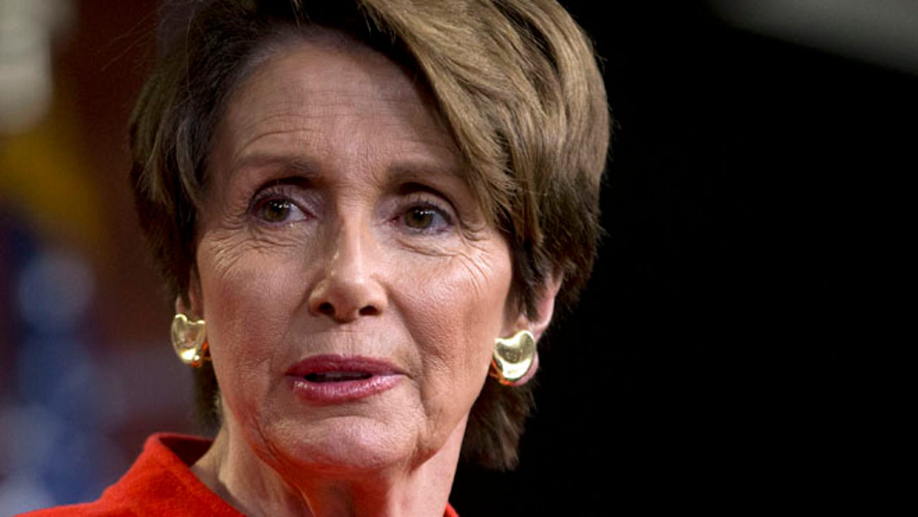 Jan. 29, 2014: House Minority Leader Nancy Pelosi meets with reporters on Capitol Hill in Washington