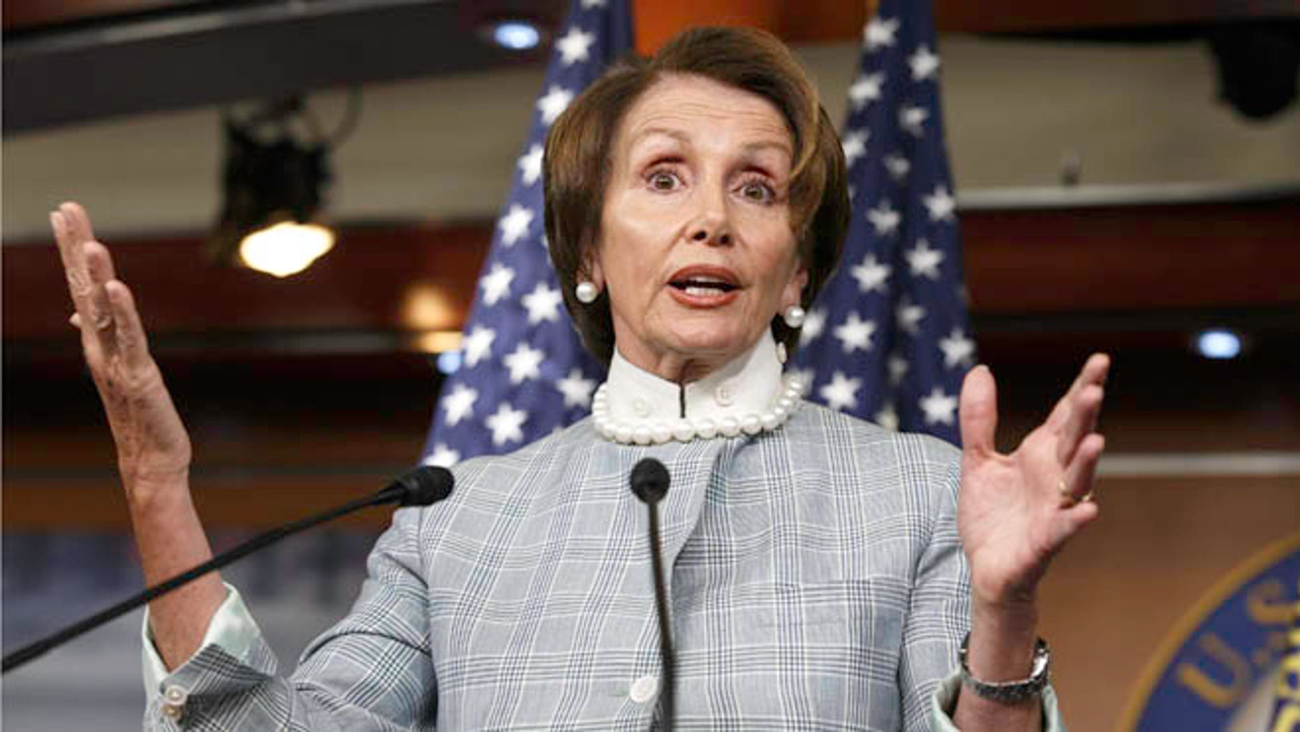 June 12, 2014: House Minority Leader Nancy Pelosi speaks on Capitol Hill.