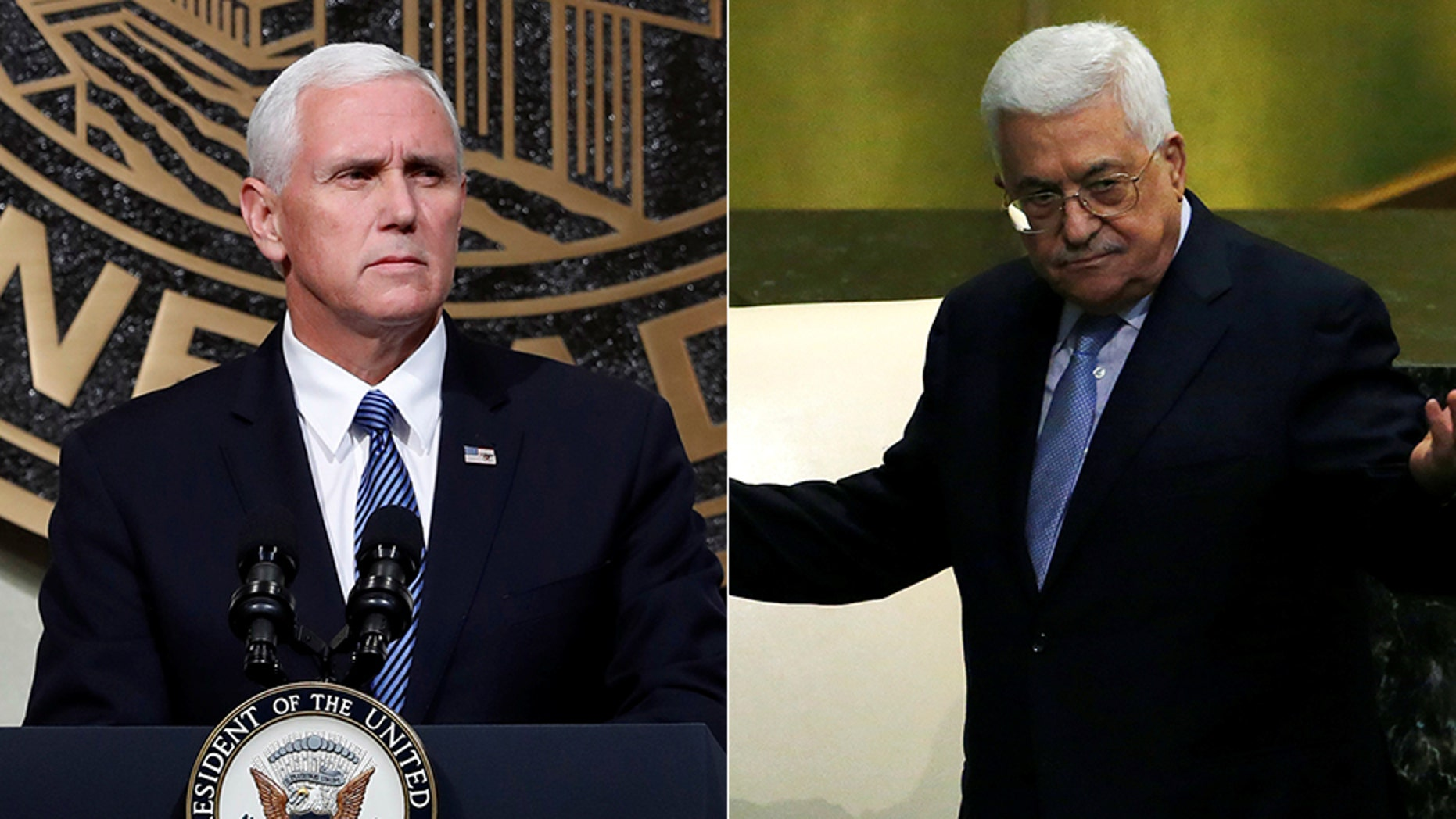 Palestinian leader Mahmoud Abbas canceled plans to meet with Vice President Mike Pence later this month.
