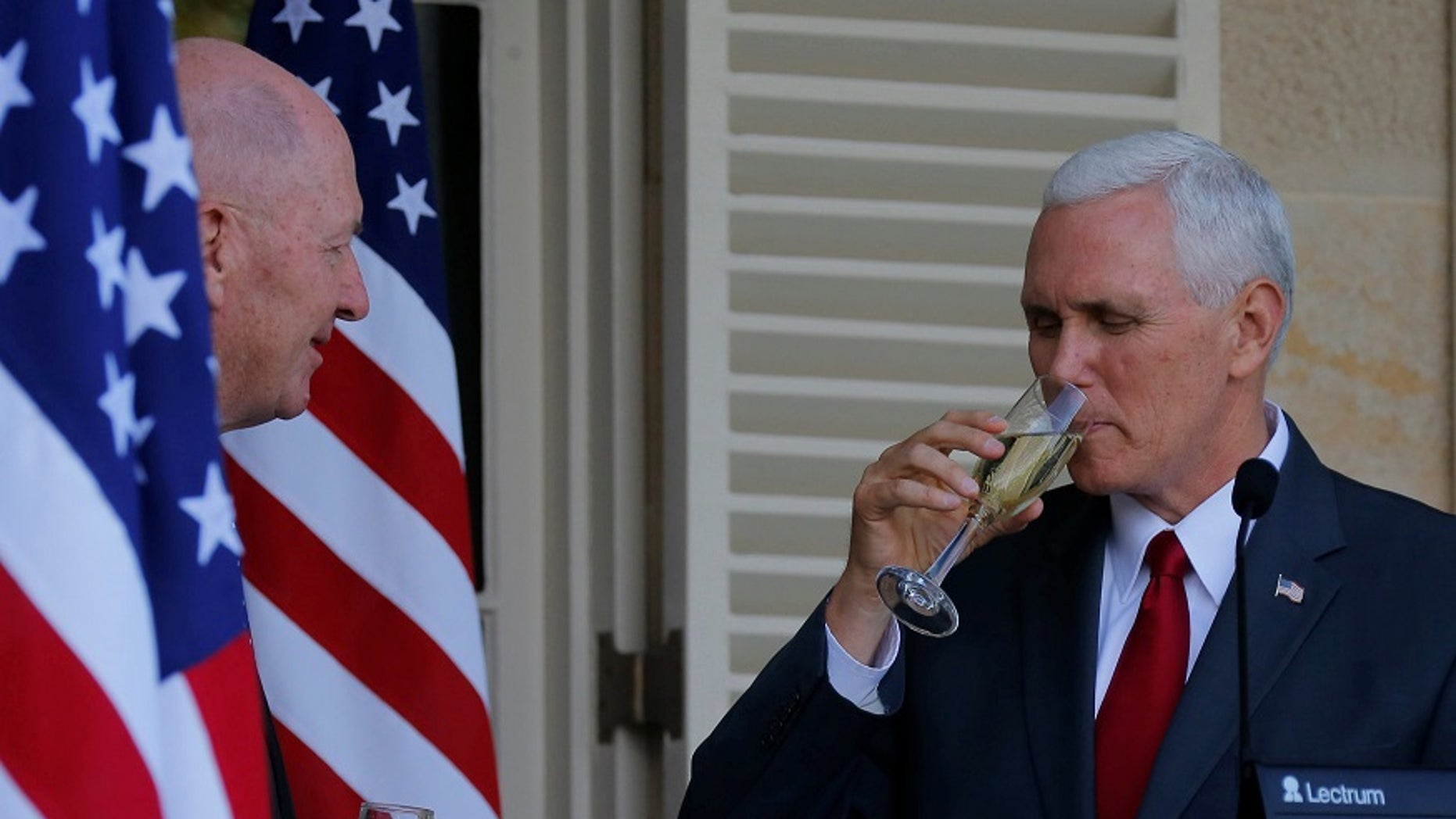 Vice President Mike Pence reportedly tattled on his fraternity brothers for hiding kegs.