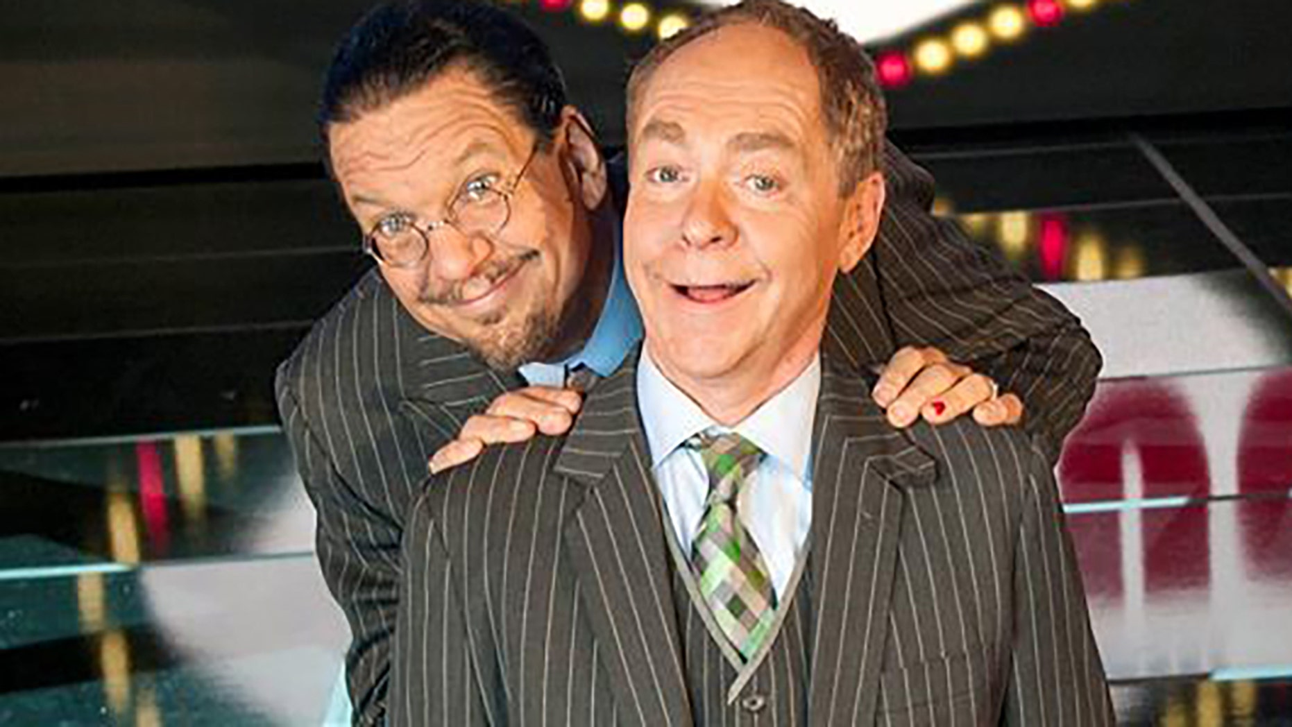 Penn & Teller say they plan to resume performances in August.