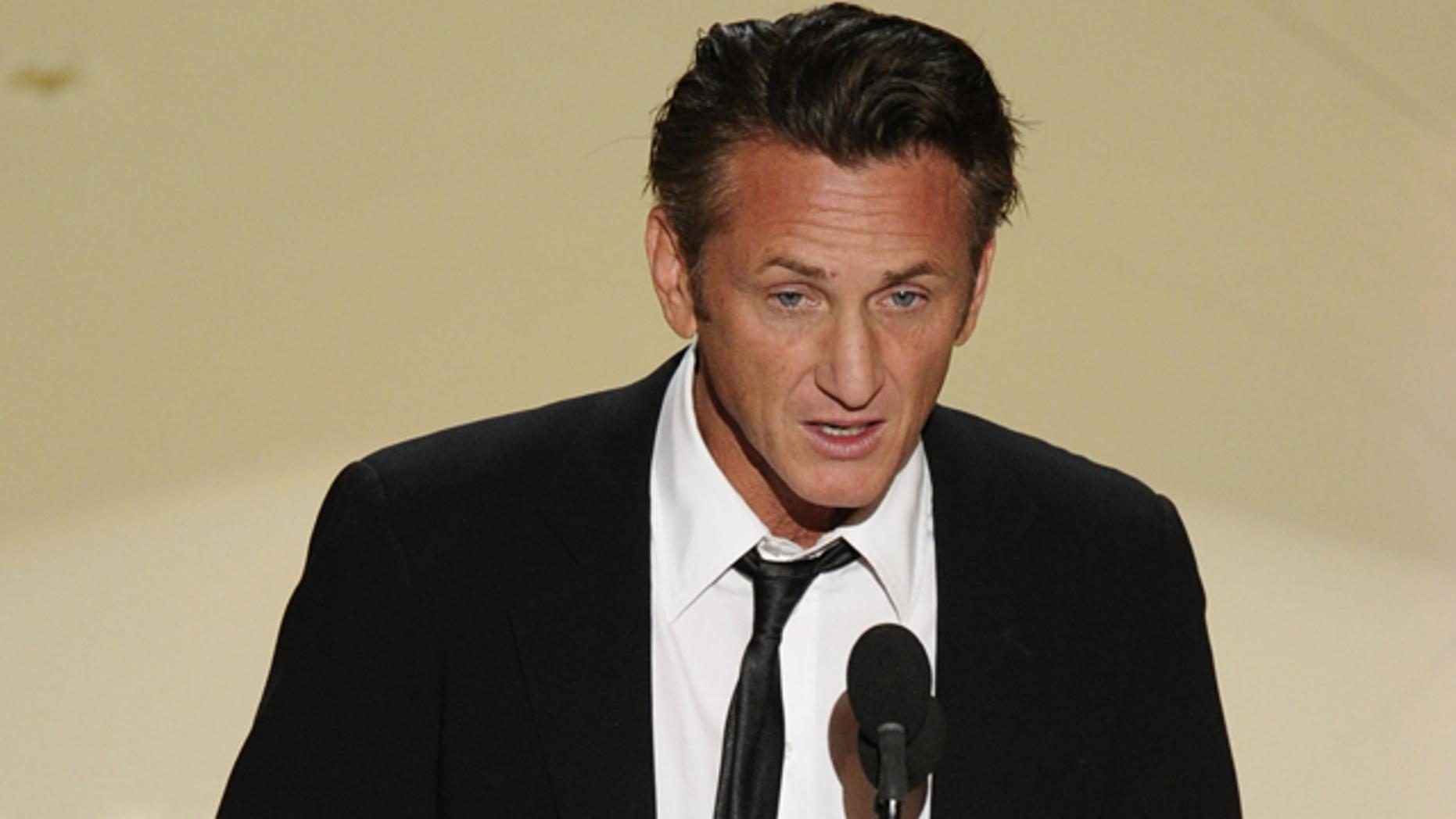 Sean Penn. (AP)