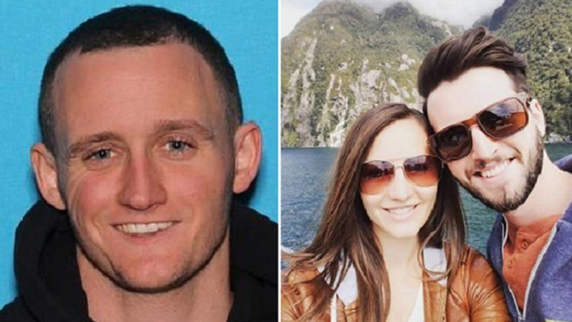Daniel Kenneth Mooney, 26, is being sought for questioning in the double murder of his neighbors Tyler and Christine Roy.
