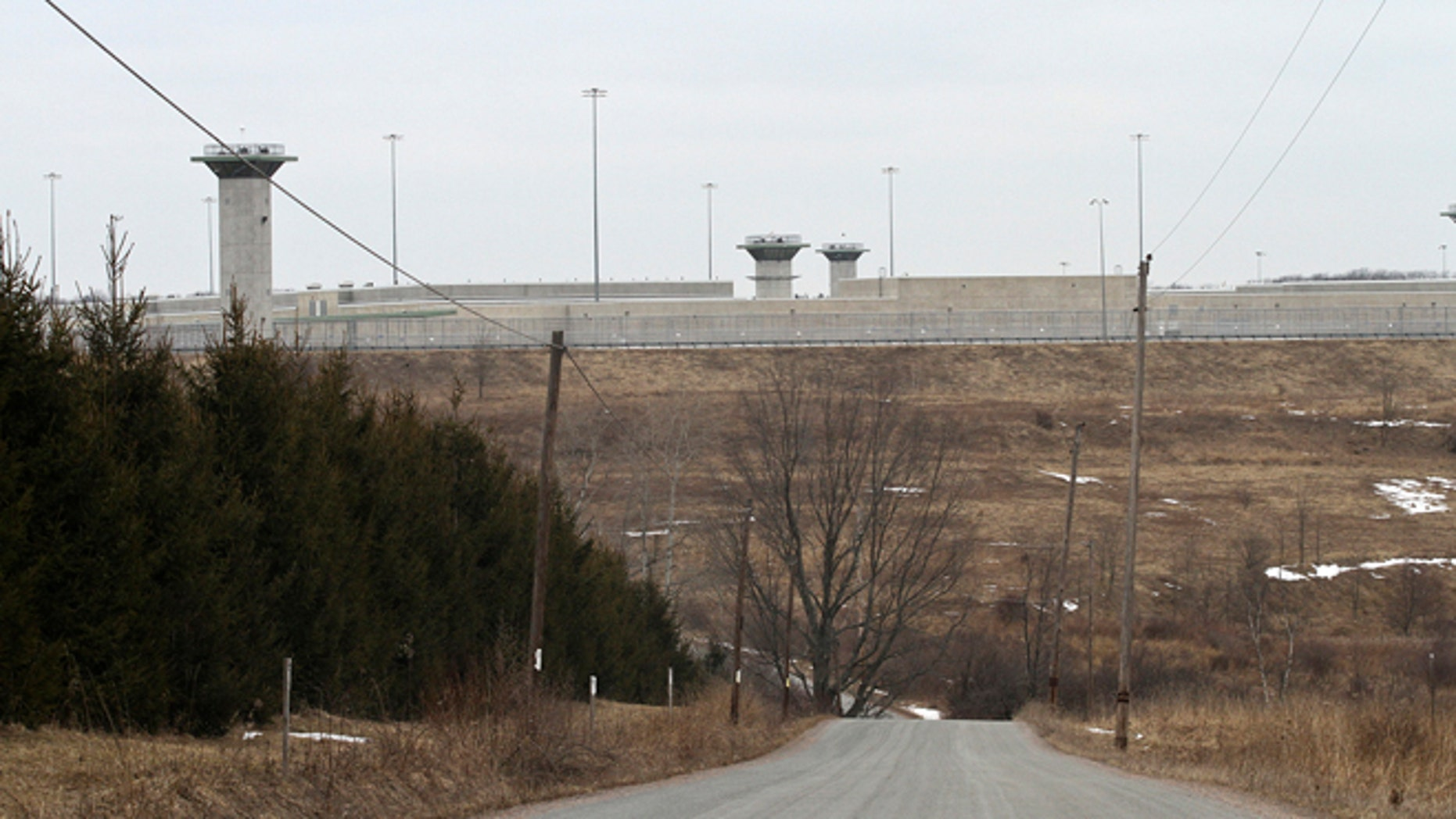 Feb. 26, 2013: This photo shows the U.S. Penitentiary in Canaan, Pa., Wayne County, where Eric Williams, 34, of Nanicoke was killed by an inmate who used a homemade weapon Monday night.